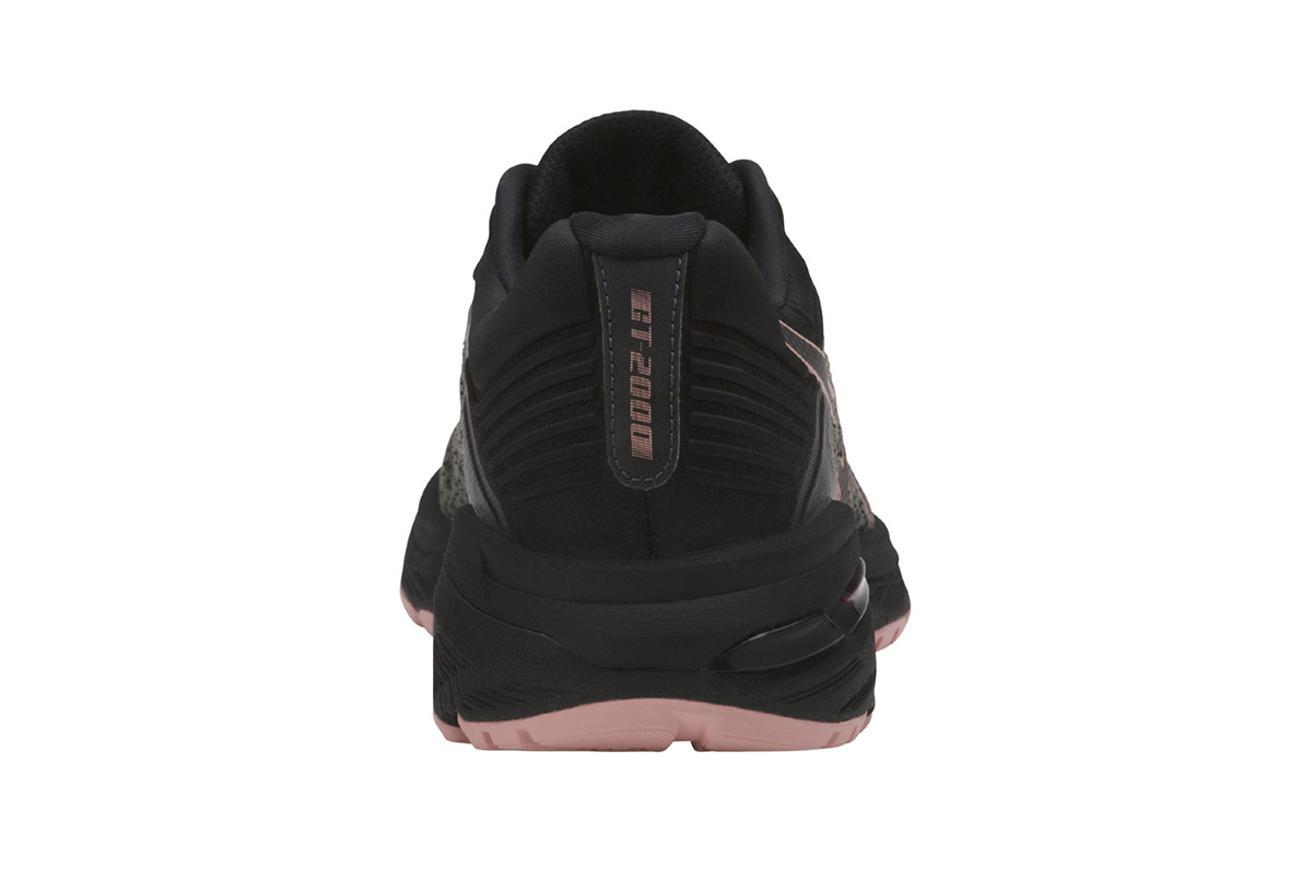 Noir 6 Asics Trail 2000 Chaussures De Gt Femme A80q4w
