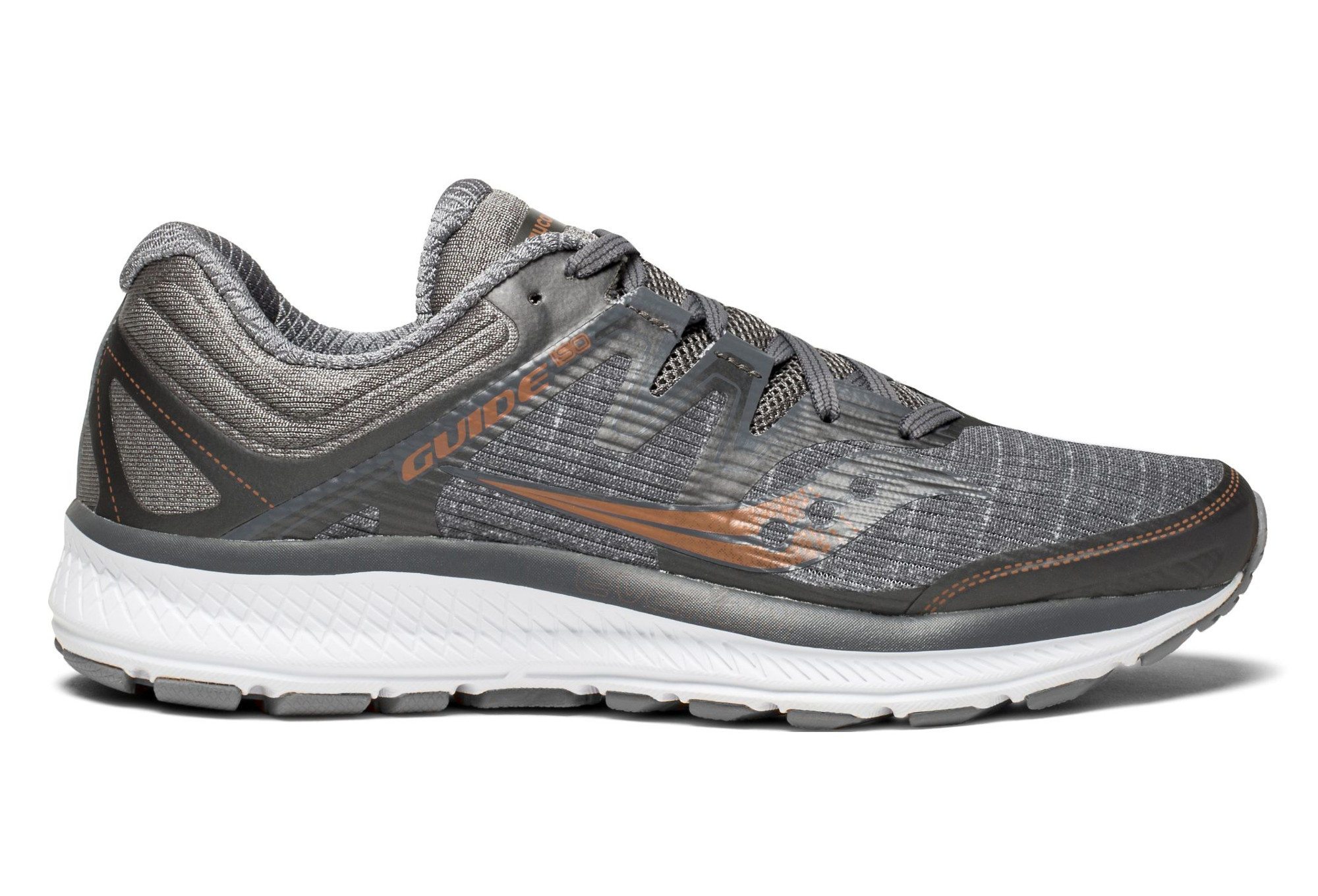 1bc1ddb8ee92 Saucony Guide Iso Shoes Grey | Alltricks.com