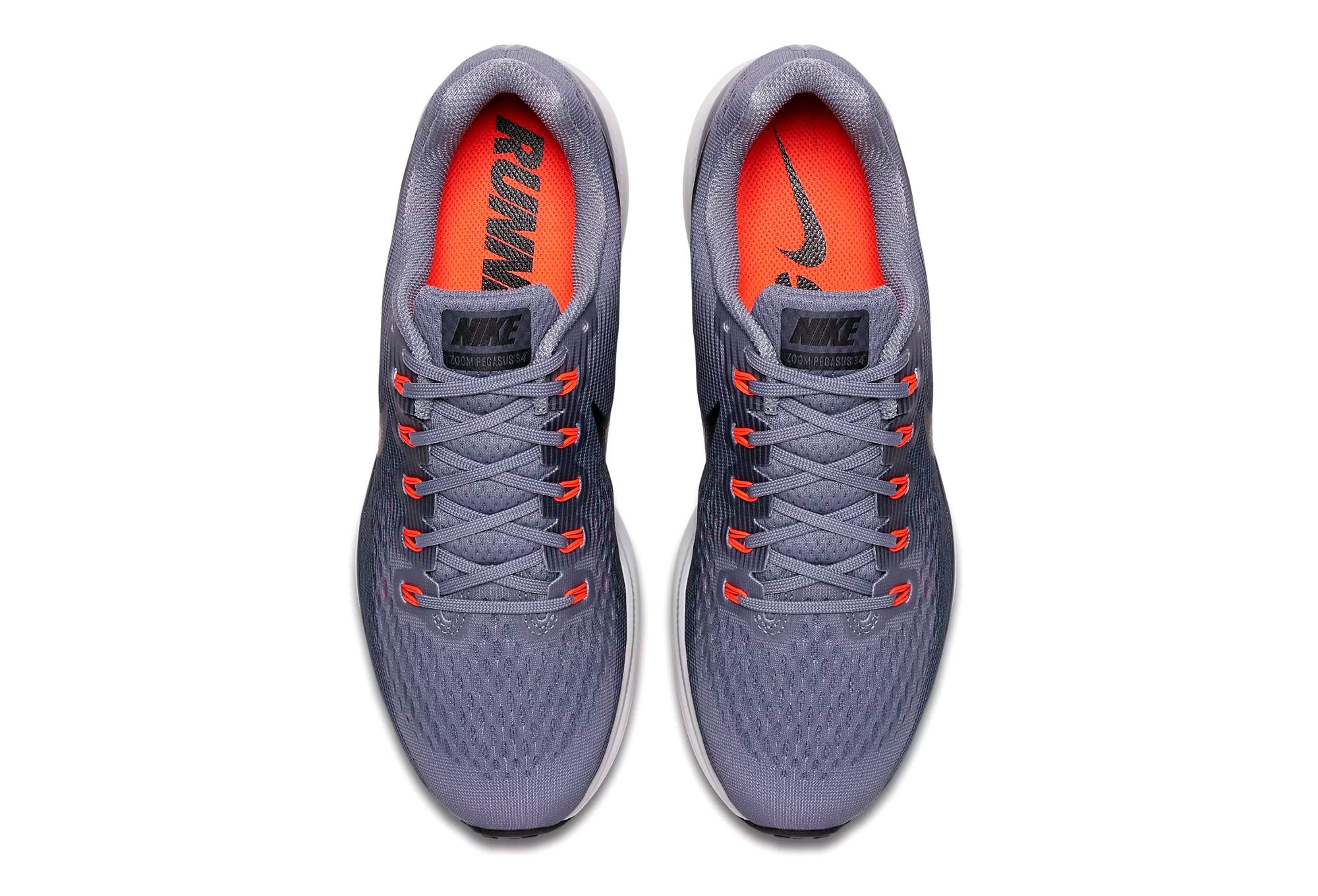 Schuhe Herren Blau AIR NIKE ZOOM Grau PEGASUS 34 BsrCthxQd