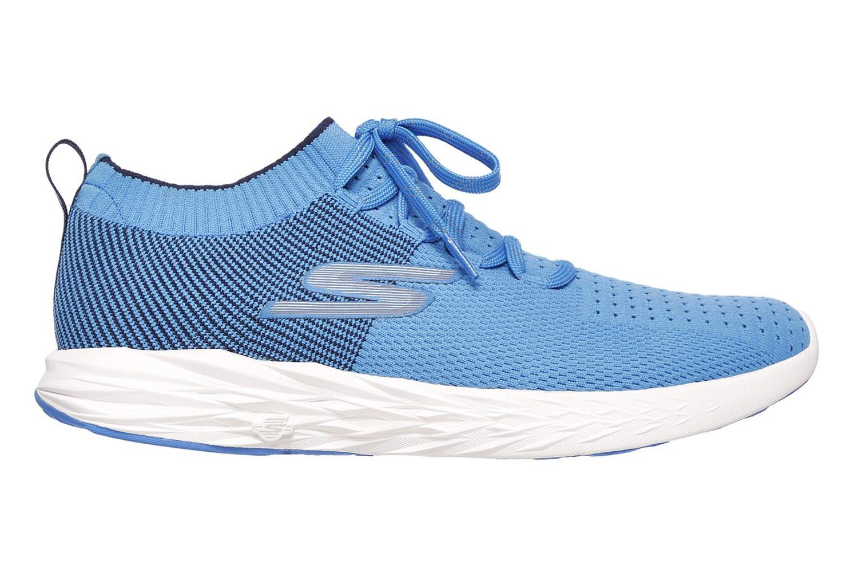 Skechers Go Run Ride 6 Blu Bianco