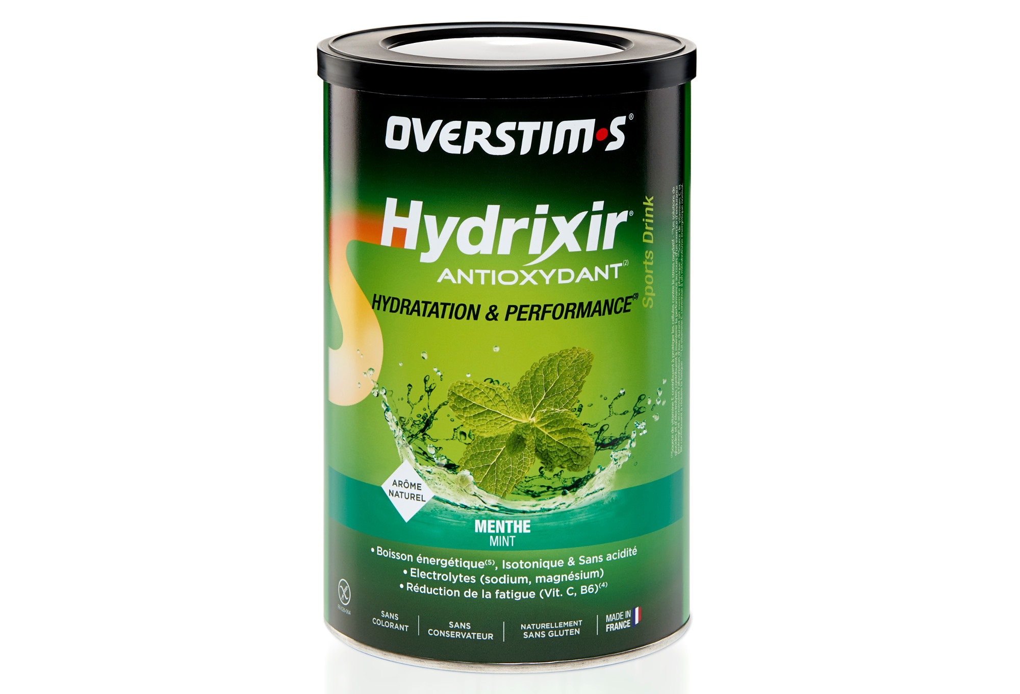 OVERSTIMS Energy Drink ANTIOXYDANT HYDRIXIR Mint 600g