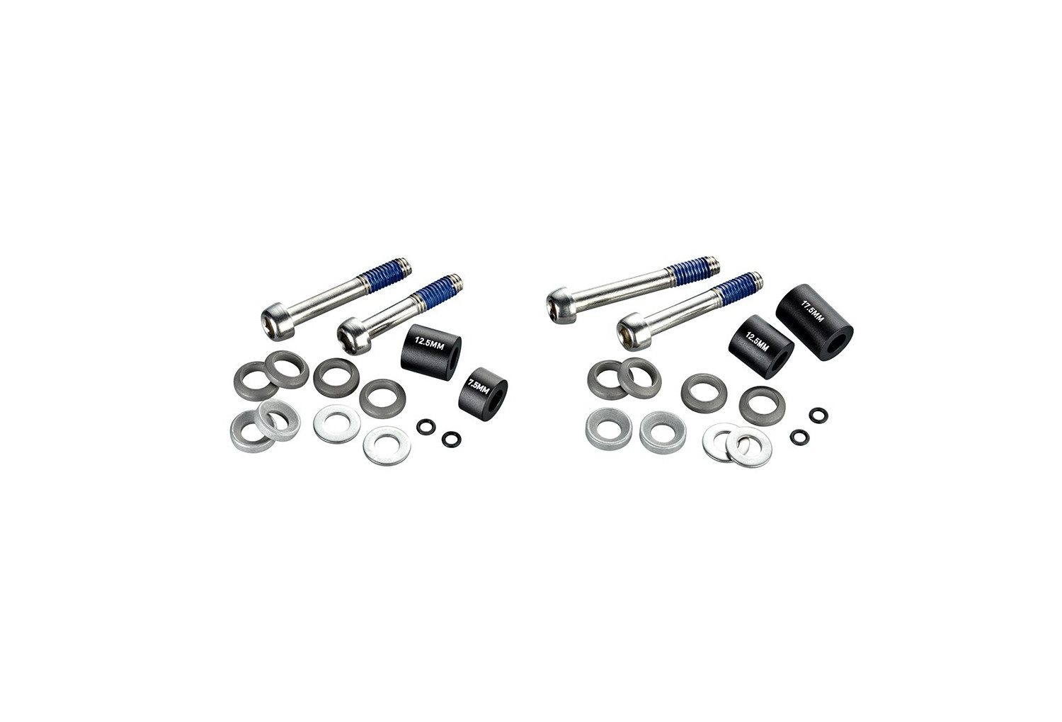 Stainless Avid Caliper Mounting Hardware includes Caliper Mounting Bolts And