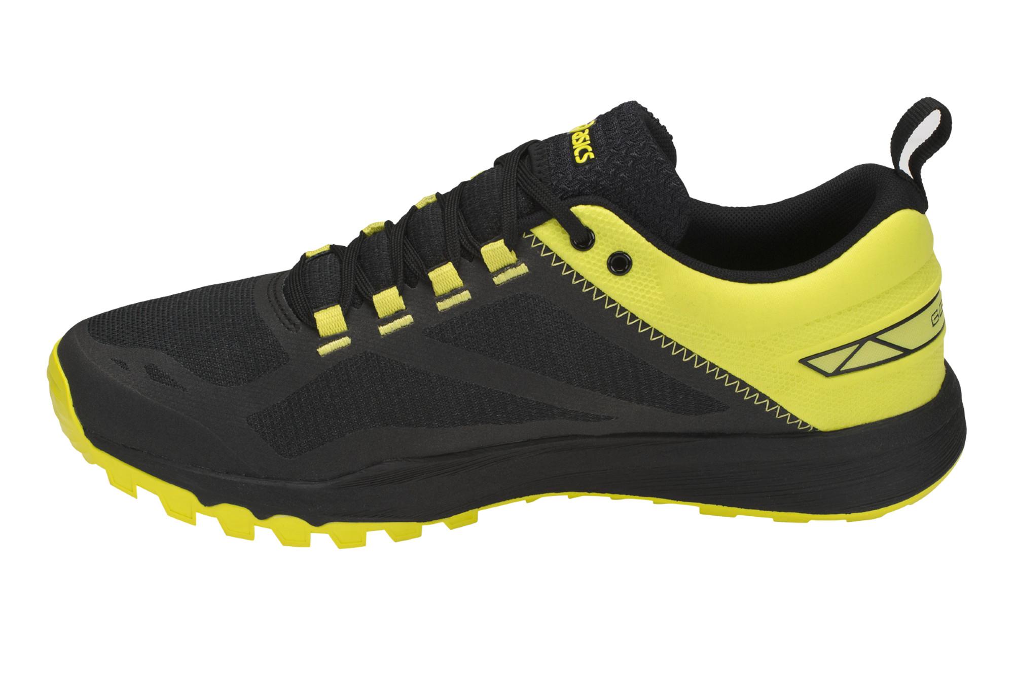 Chaussures de Running Asics Gecko XT Noir   Jaune   Alltricks.fr a4b536c1f3c9