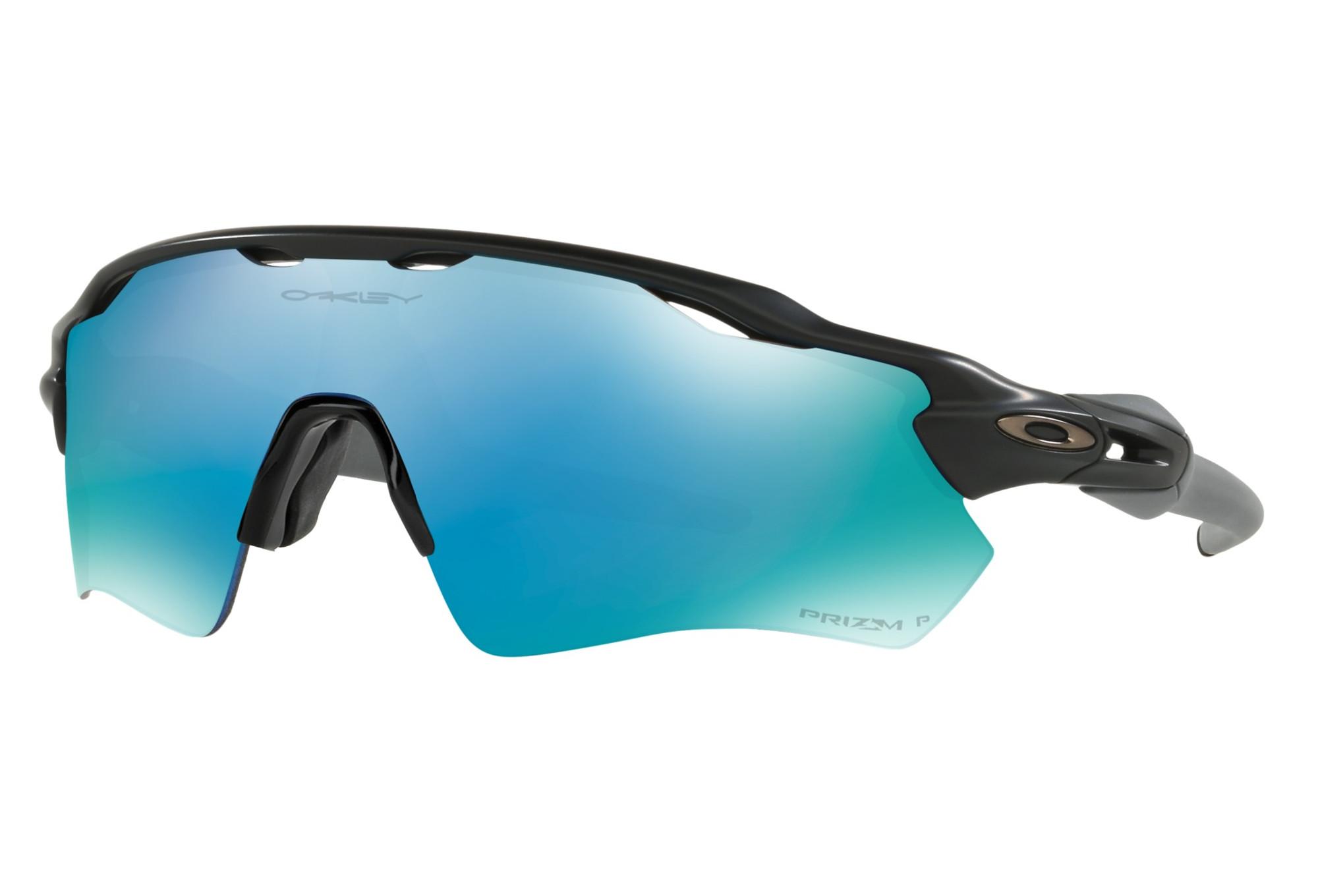 Oakley Radar EV Path Prizm Polarized Sonnenbrille Schwarz/Blau 0Fn2rY6eD