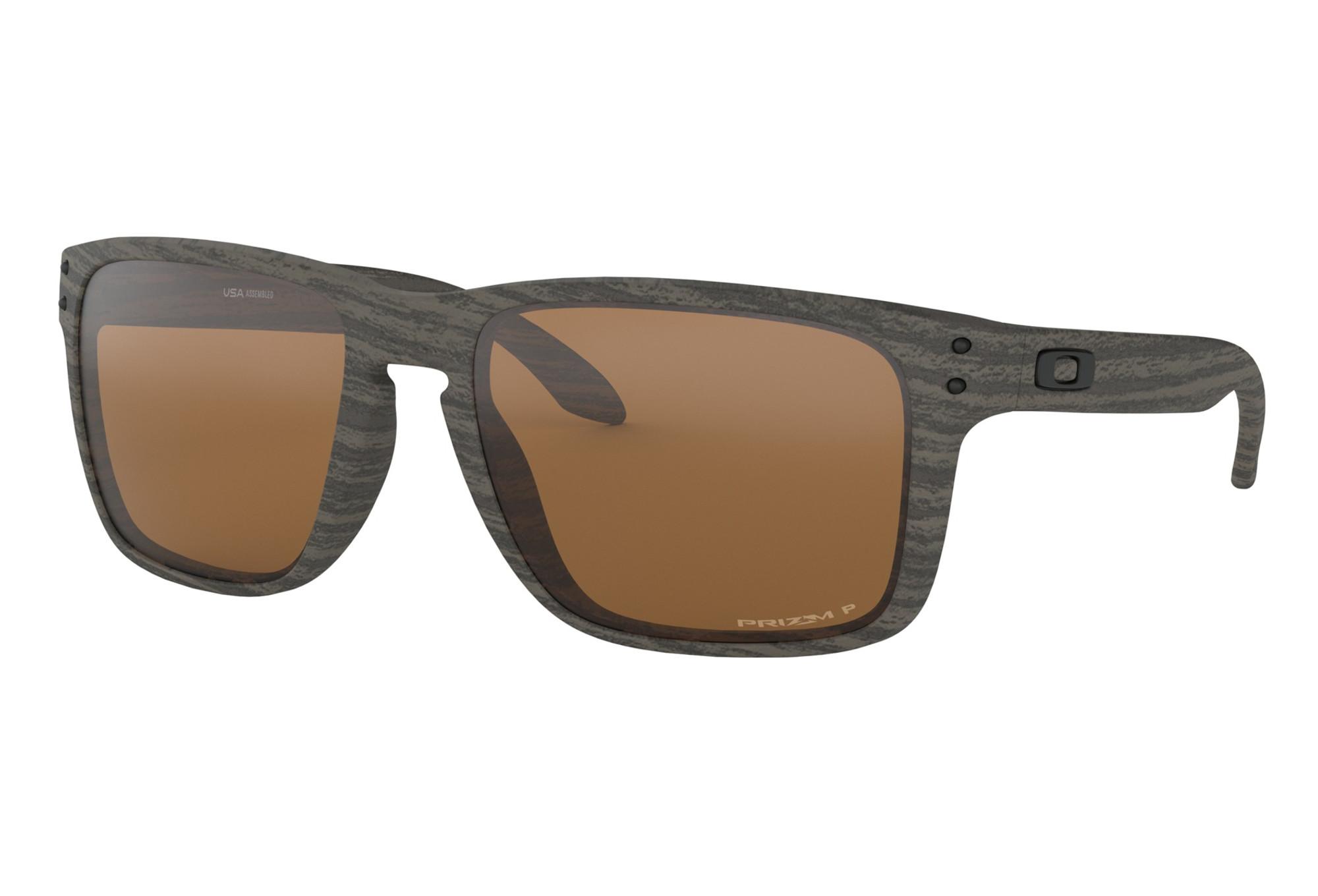 4be8bea3c4345 Gafas de sol Oakley Holbrook XL marrón - Prizm Polarized OO9417-0659 ...