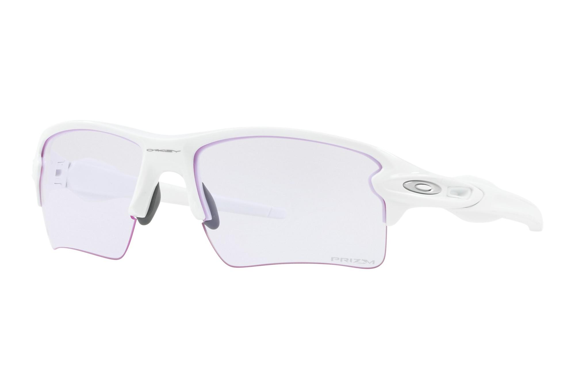 OAKLEY FLAK 2.0 XL Sonnenbrille Weiß - Prizm Low Light OO9188-8859 ...