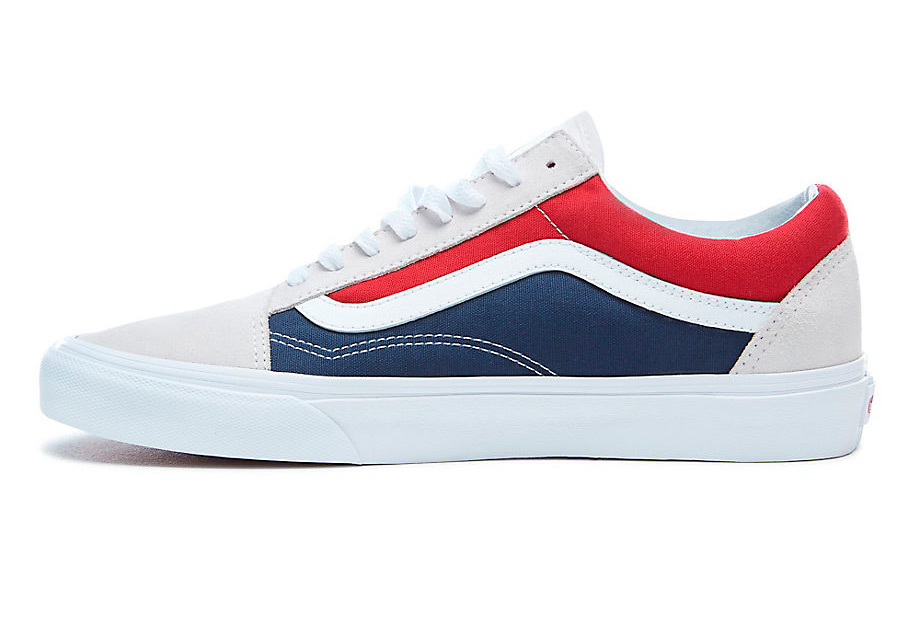 vans ua old skool blau rot weiss. Black Bedroom Furniture Sets. Home Design Ideas