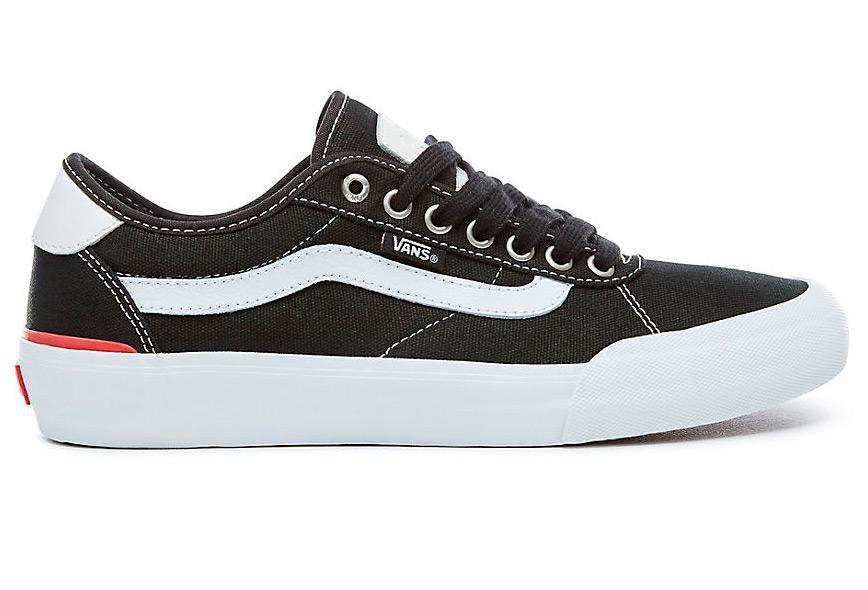 Chaussures 2 Noires Pro Chima Vans canvas AUxUTa6qwP