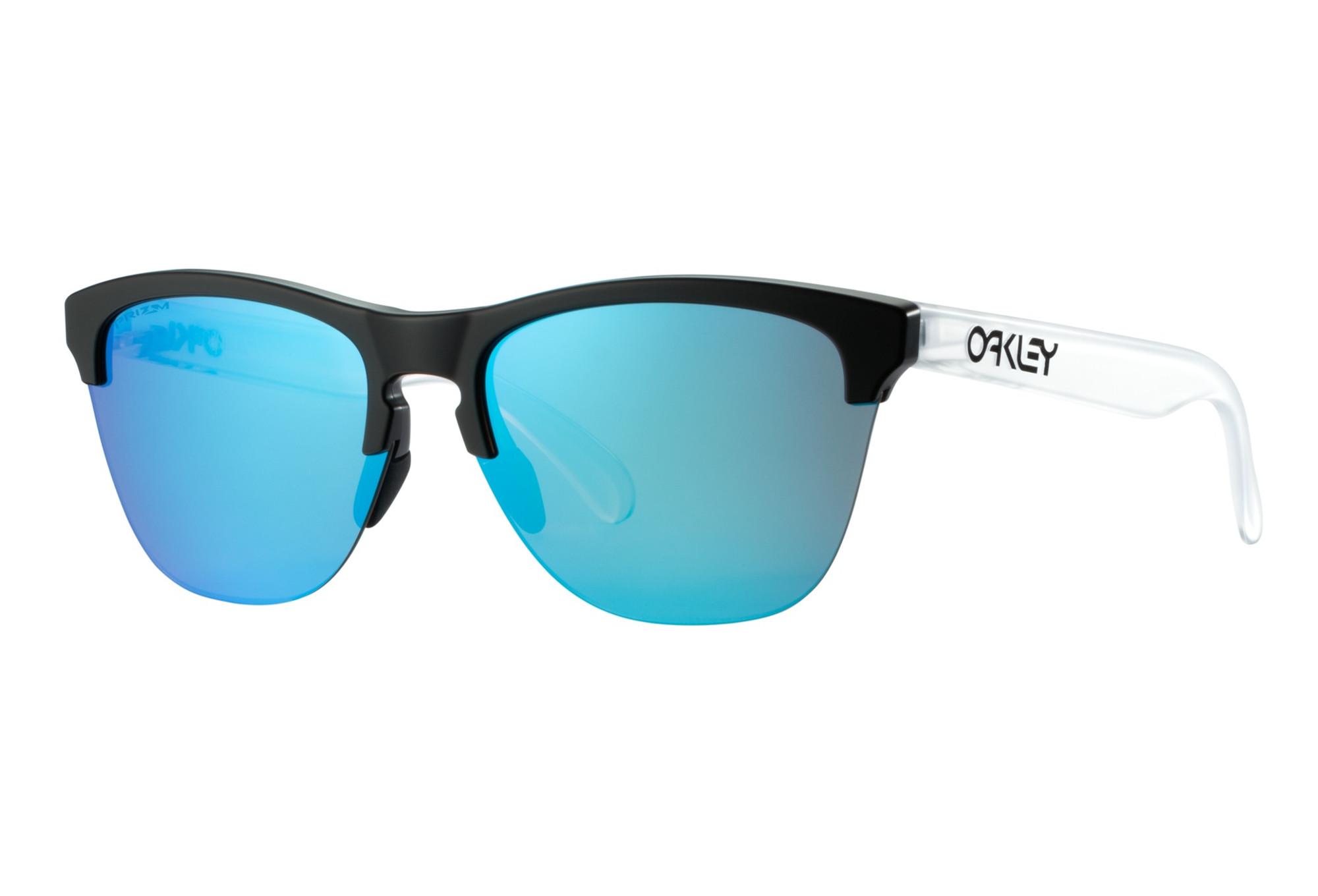 5b5ea23897 Gafas de sol OAKLEY Frogskins Lite Clear Black - PRIZM Sapphir ...