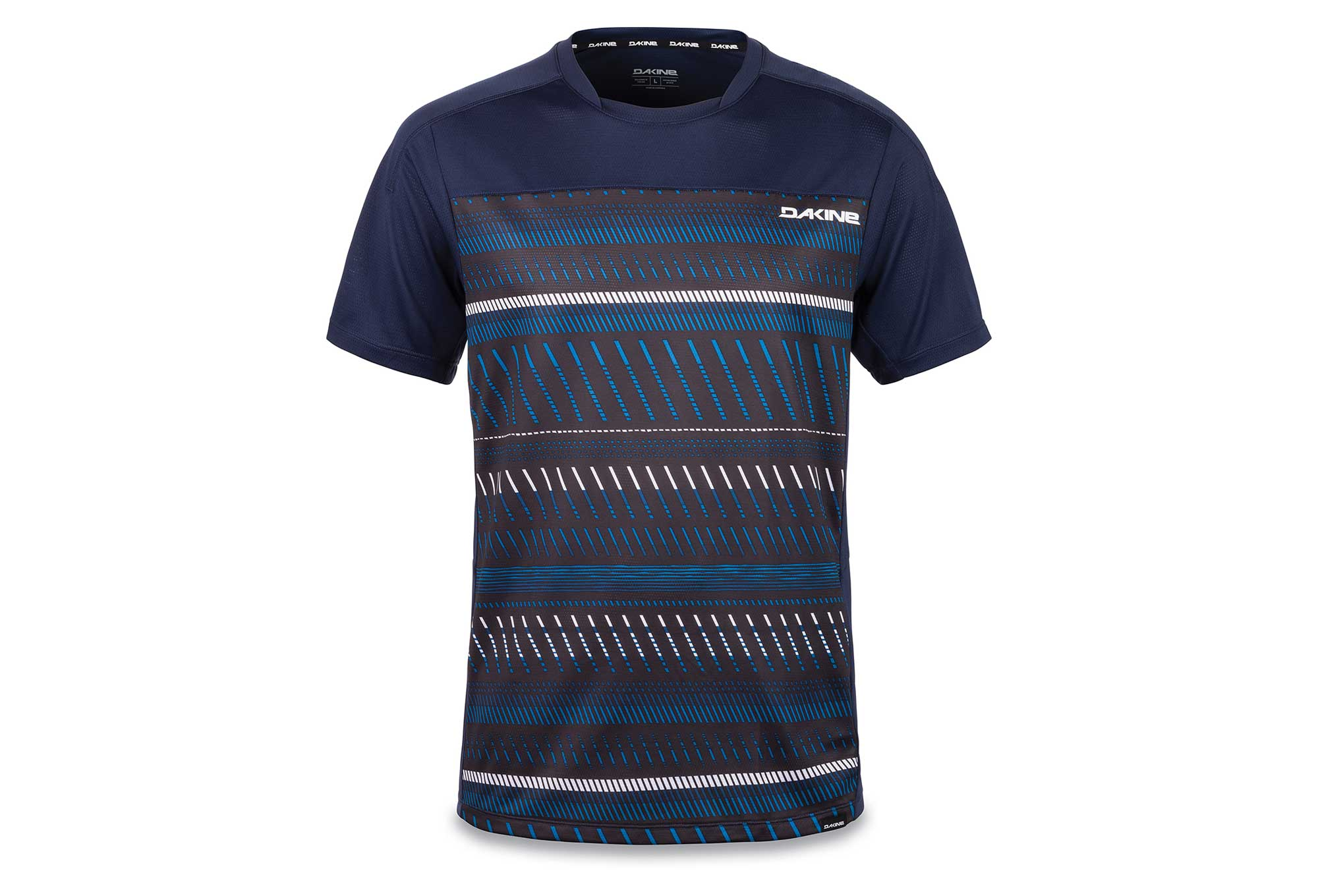 Dakine Charger Ventana Short Sleeves Jersey Blue  64b7eecf5
