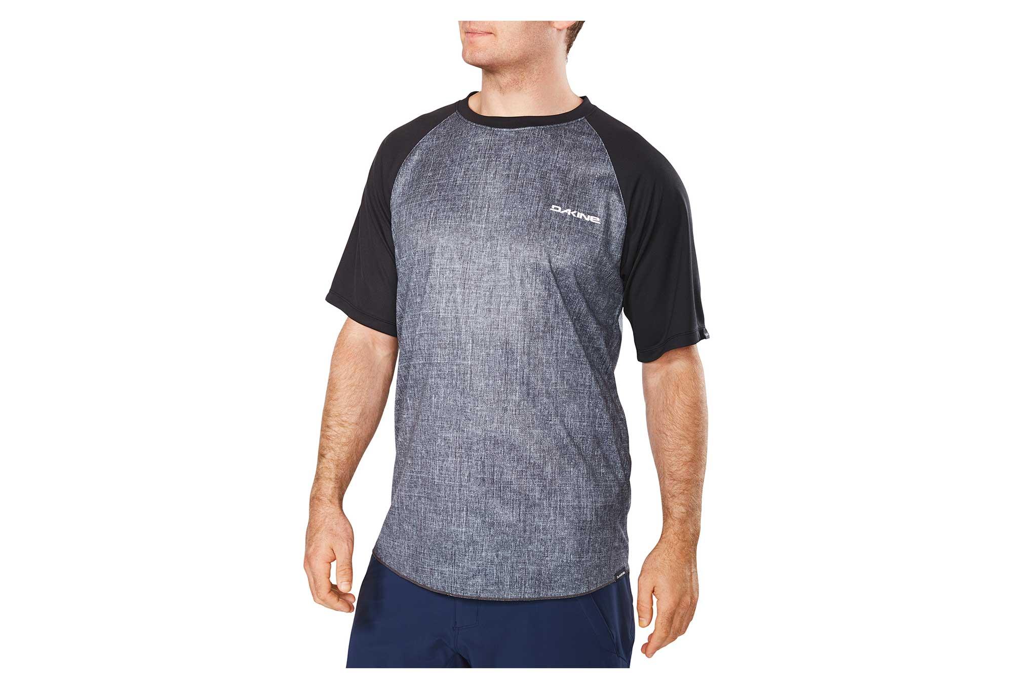 Dakine Dropout Short Sleeves Jersey Carbon Black  dfbe0447e
