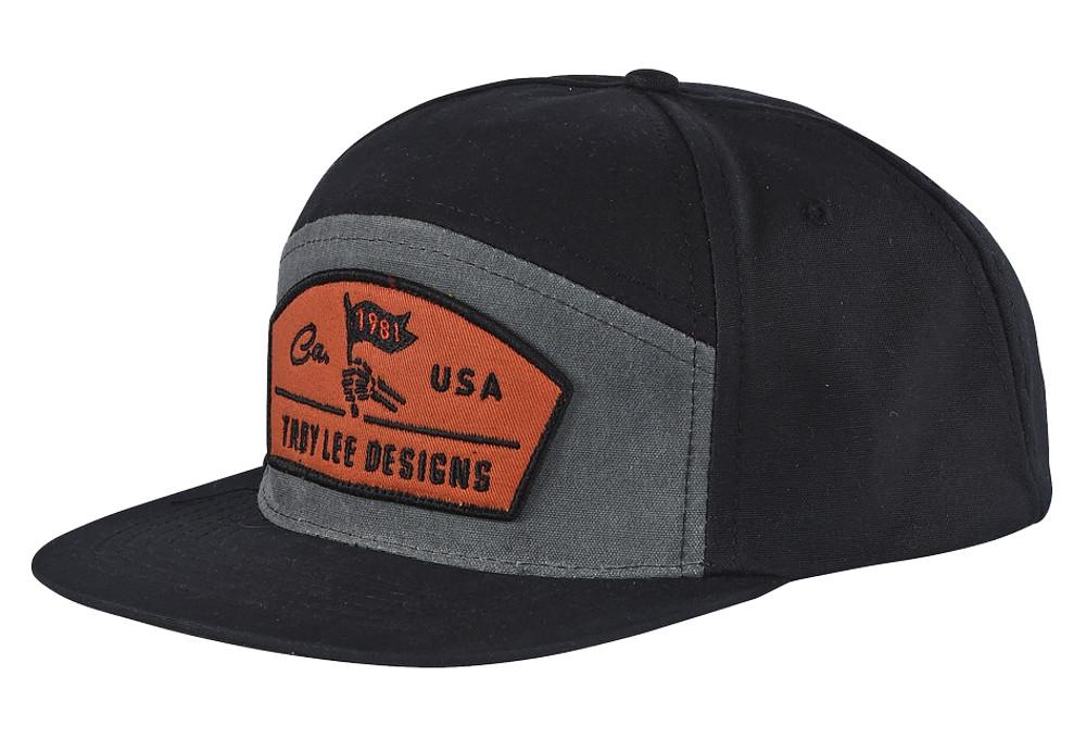 Troy Lee Design Finish Line Cap Black  8937f096027