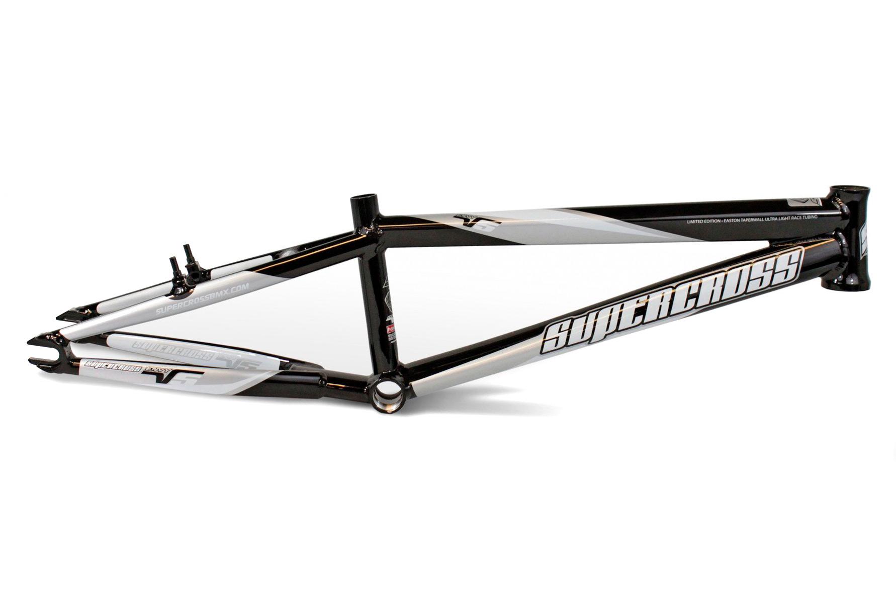 Supercross BMX Rahmen Envy V5 Pro XXL Schwarz | Alltricks.de