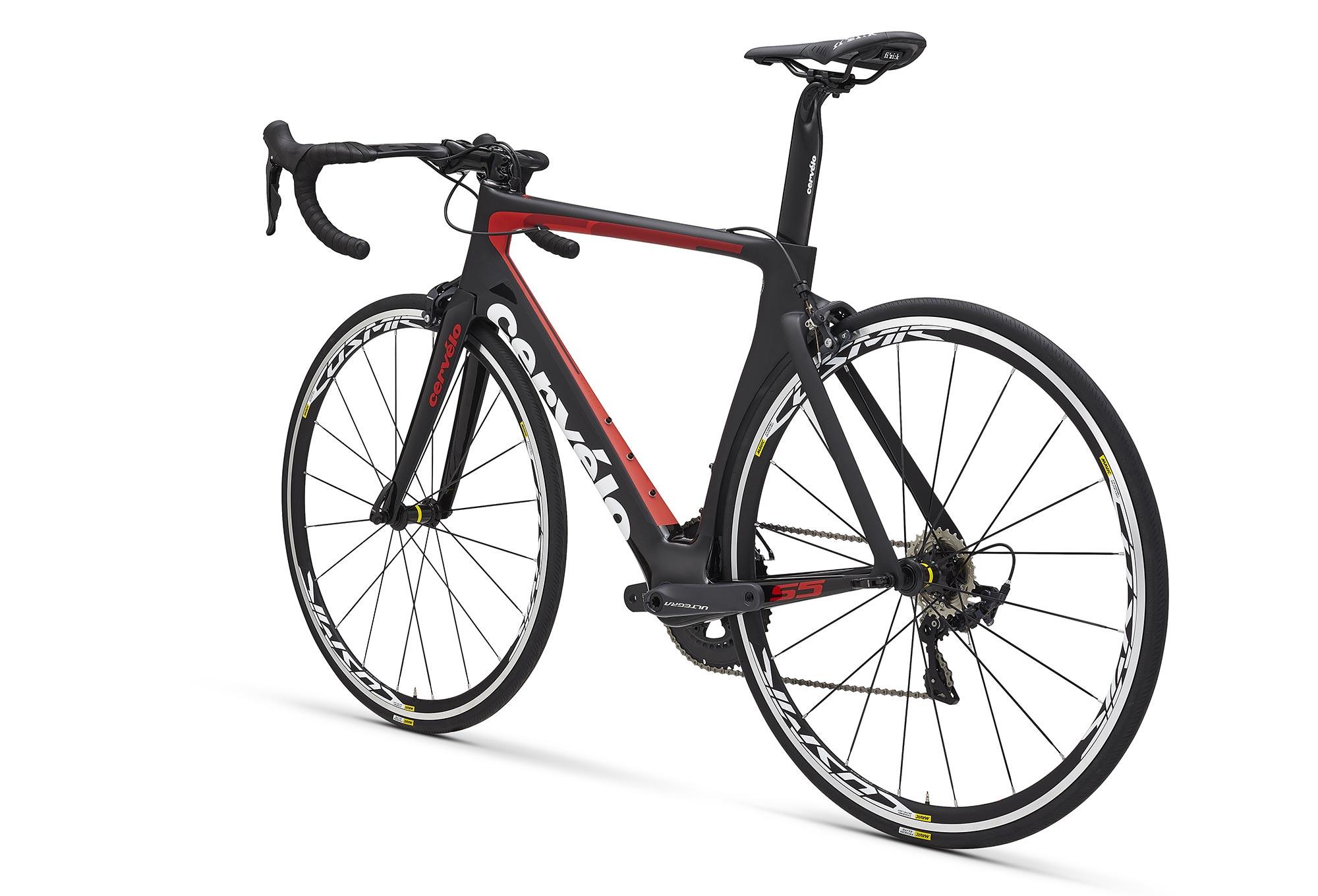 babb458a4b0 Cervélo S5 Road Bike Shimano Ultegra 8000 11S 2018 Black / Red ...