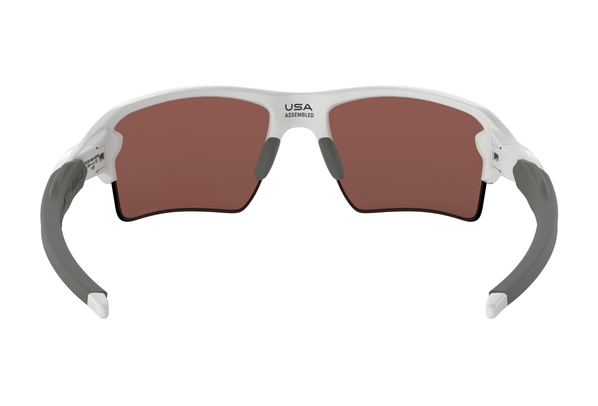 1d638c2d639 Lunettes Oackley Flak 2.0 XL Blanc - Prizm Deep Water Polarized OO9188-8259
