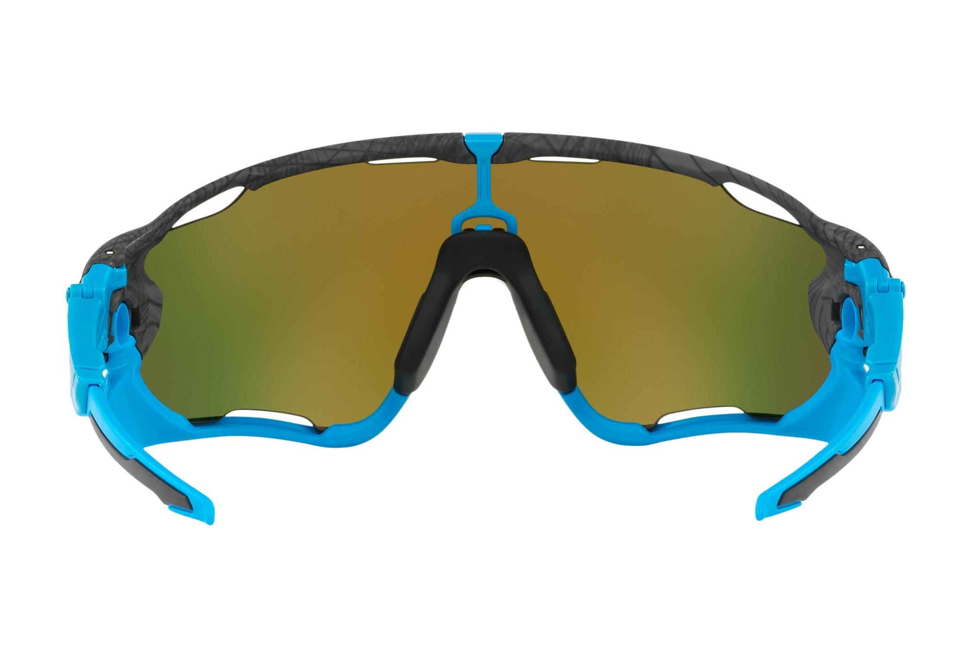 lunettes oakley jawbreaker gris bleu prizm ruby oo9290. Black Bedroom Furniture Sets. Home Design Ideas