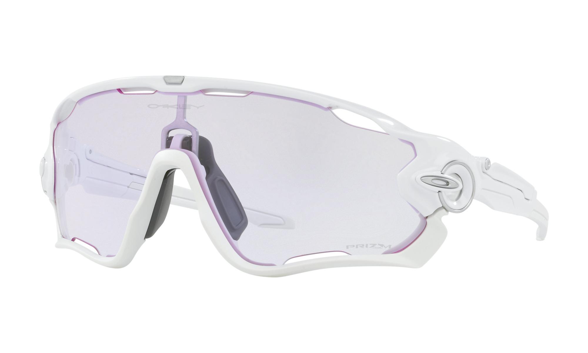lunettes oakley jawbreaker blanc prizm low light oo9290 3231. Black Bedroom Furniture Sets. Home Design Ideas