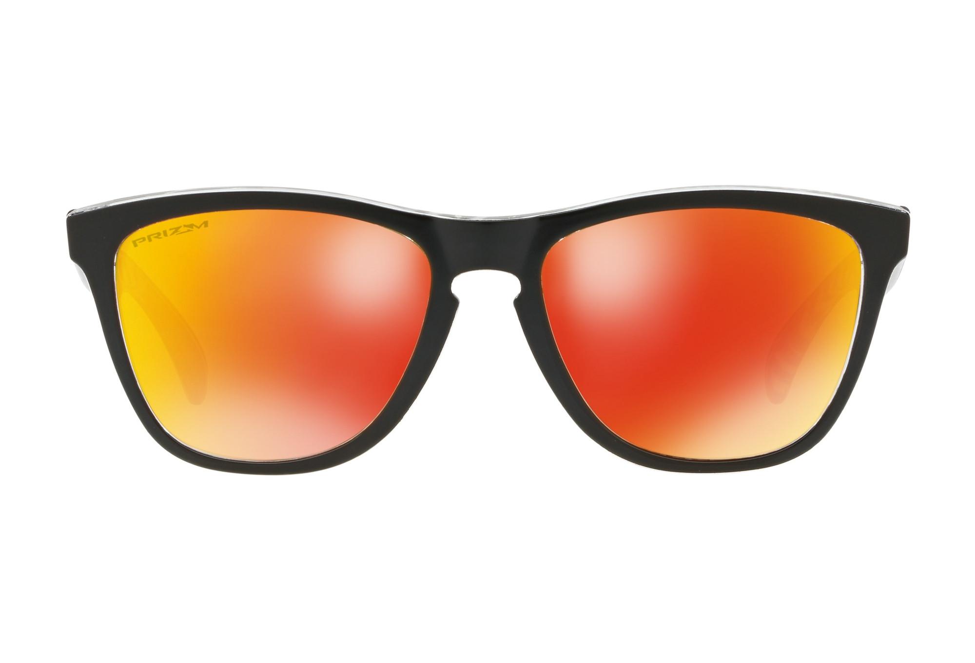 Oakley Sportbrille »Frogskins Urban Commuter Sunglasses«, schwarz, schwarz