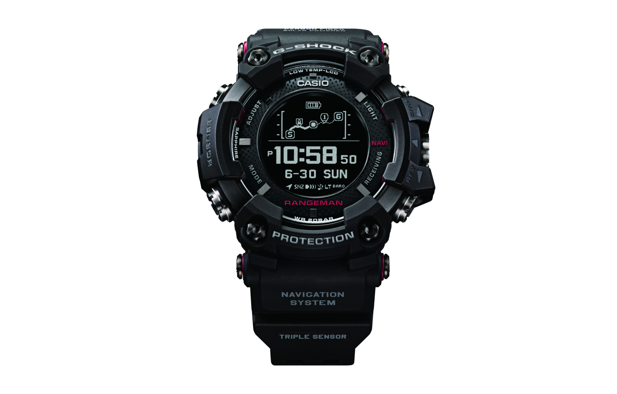huge discount 42c4a dc87d Casio Rangeman GPR B1000 Outdoor GPS Watch Black
