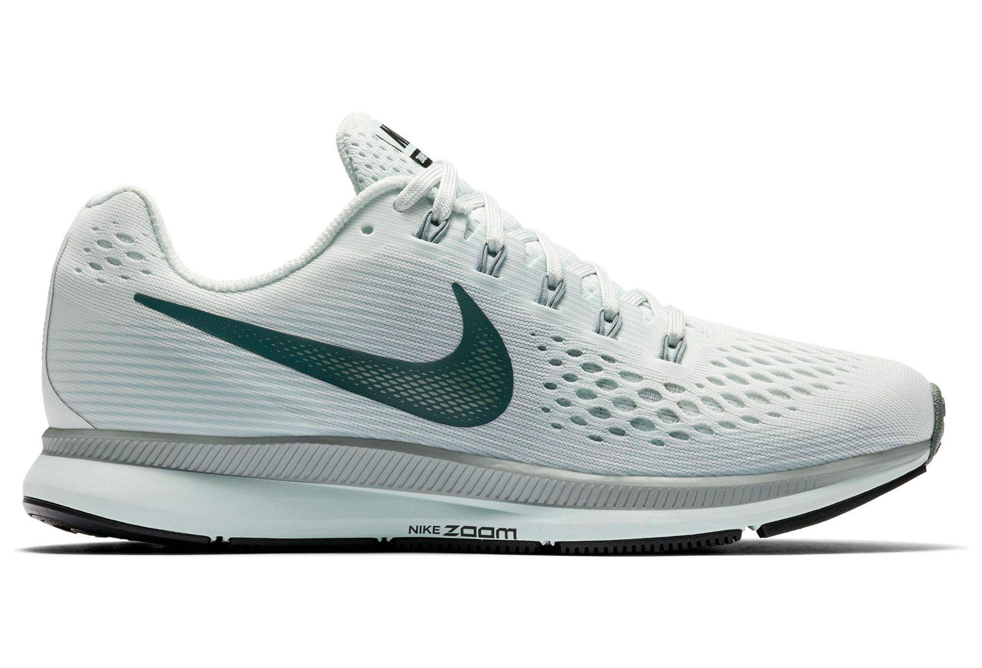 best loved f9cf5 151df Chaussures de Running Femme Nike Air Zoom Pegasus 34 Blanc   Vert