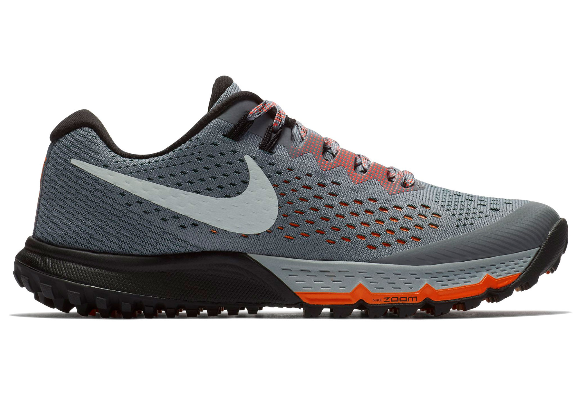 8bfb77a0f5e83 Nike Shoes Air Zoom terra Kiger 4 Grey Orange Women