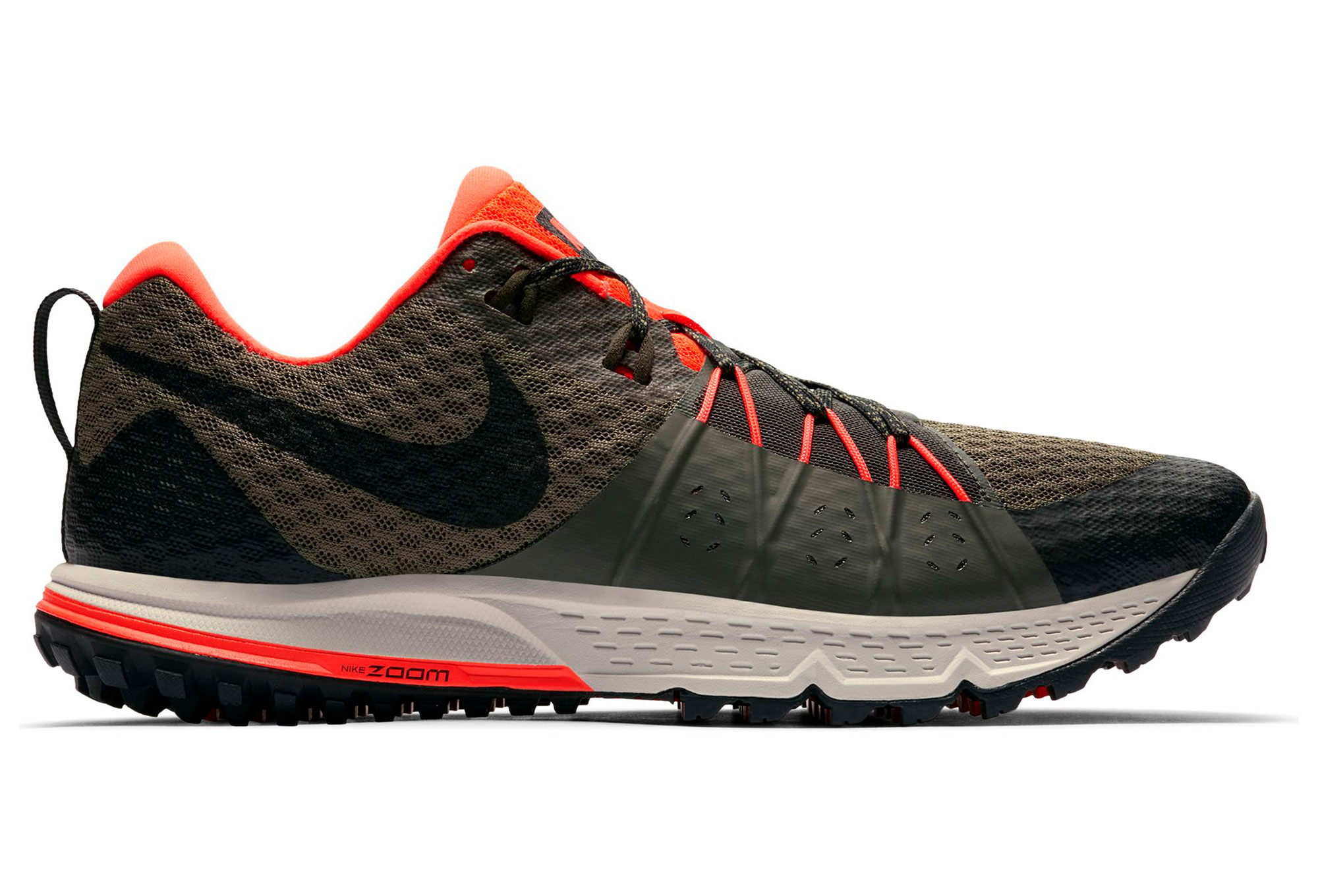 69648600099b2 Nike Shoes Air Zoom Wildhorse 4 Khaki Orange Men
