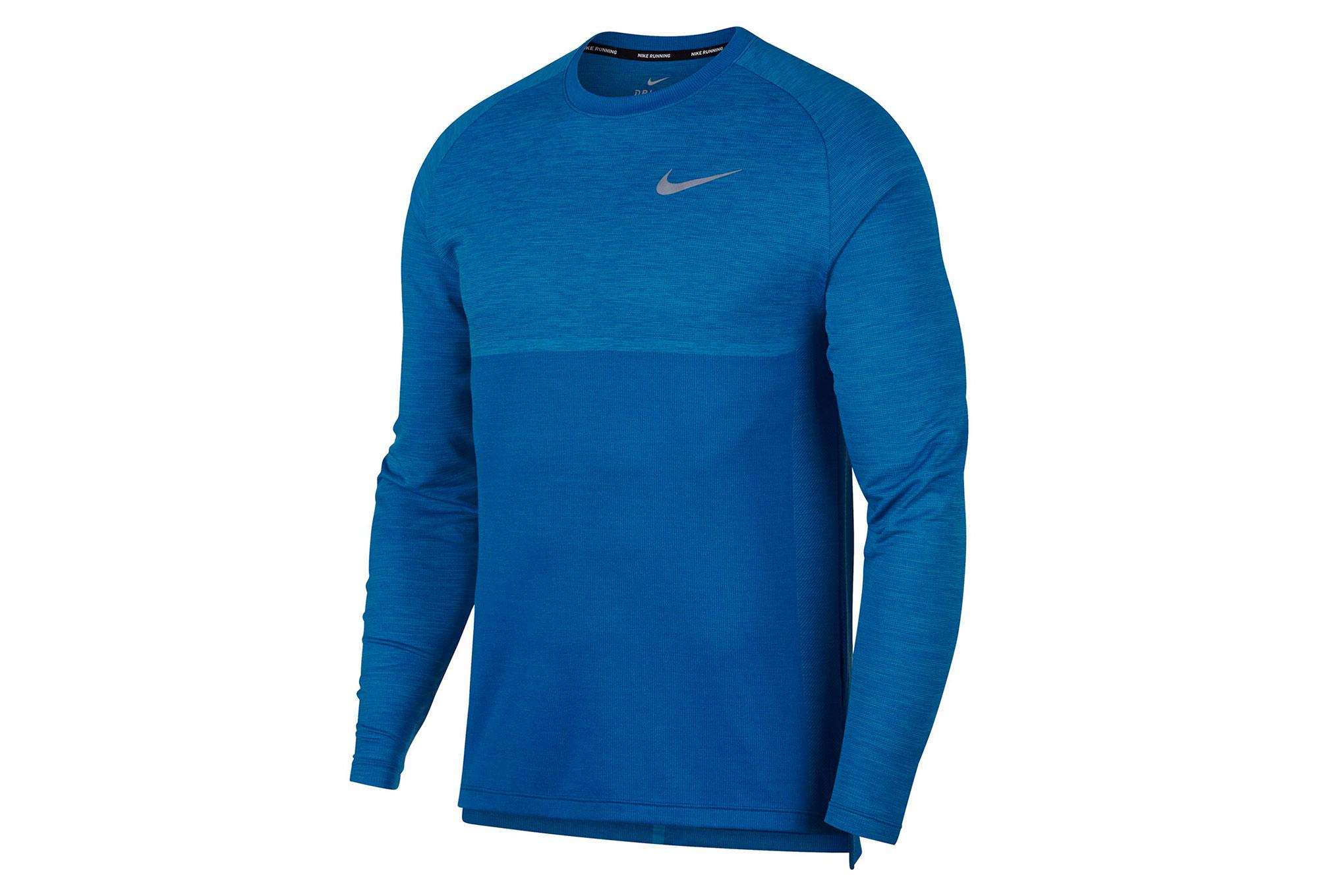 65deebd7 Nike Long Sleeves Jersey Dry Medalist Blue Men   Alltricks.com