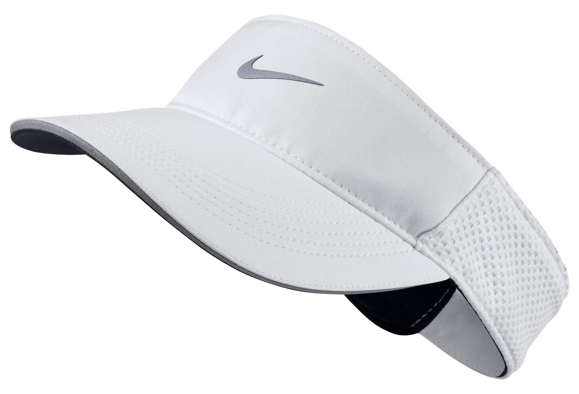 Nike Visiere AeroBill White Black Unisex  00579e72832