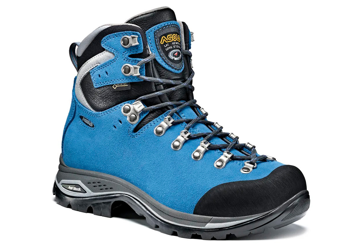 Scarpe da trekking donna Asolo Greenwood GV Gore-Tex Blu  0b282cb62c1