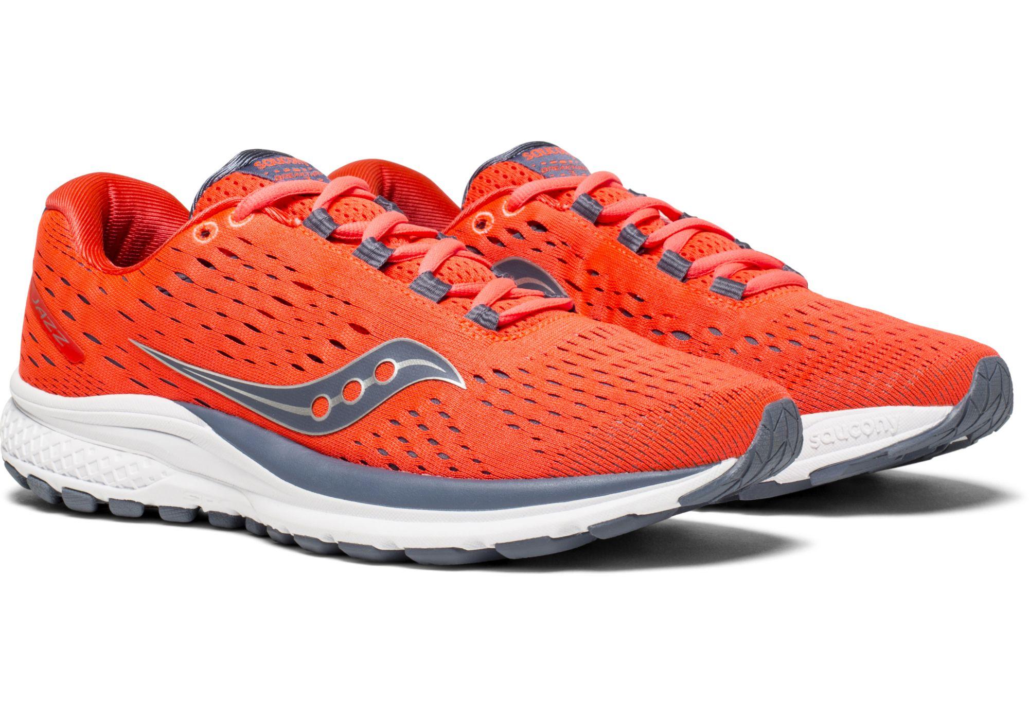 Womens' Orangegrey Jazz Saucony Shoes 20 Running XkuZiP