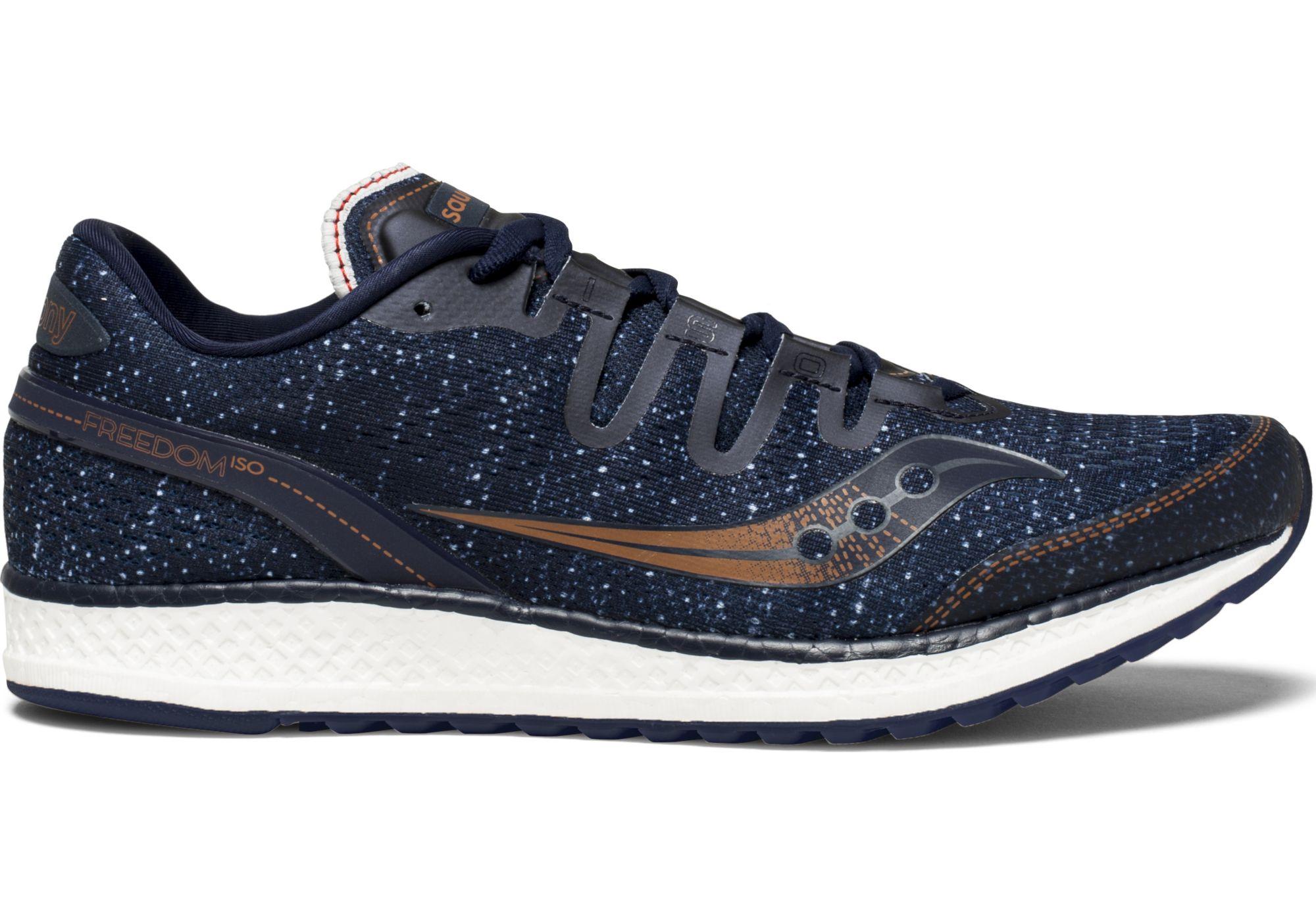 Saucony Freedom ISO Hombre Zapatos para correr (azul oscuro