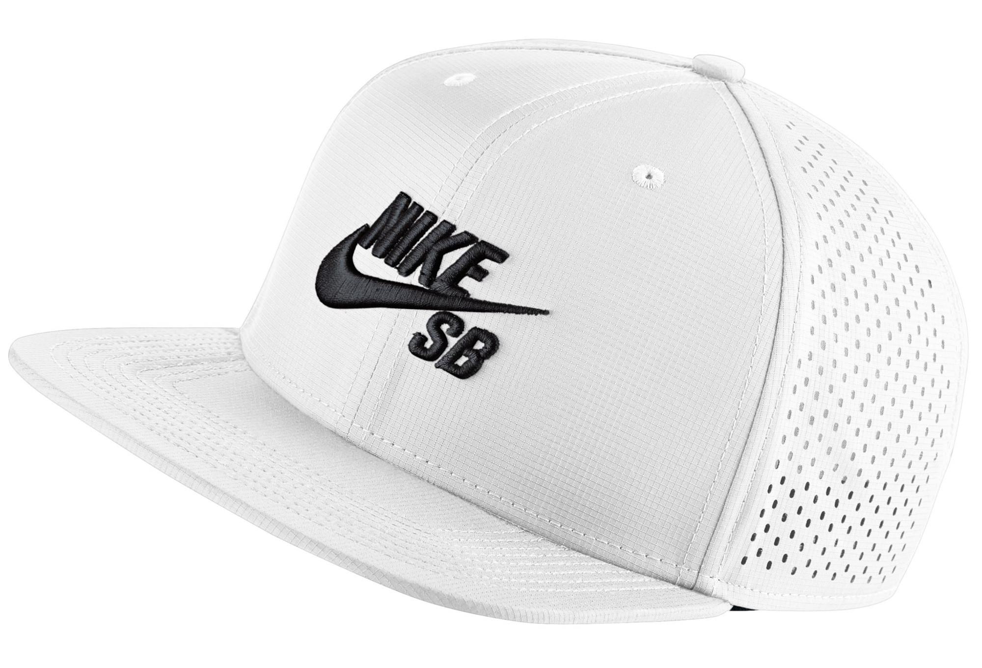 3feb4c15063 Nike SB Aerobill Hat White   Black