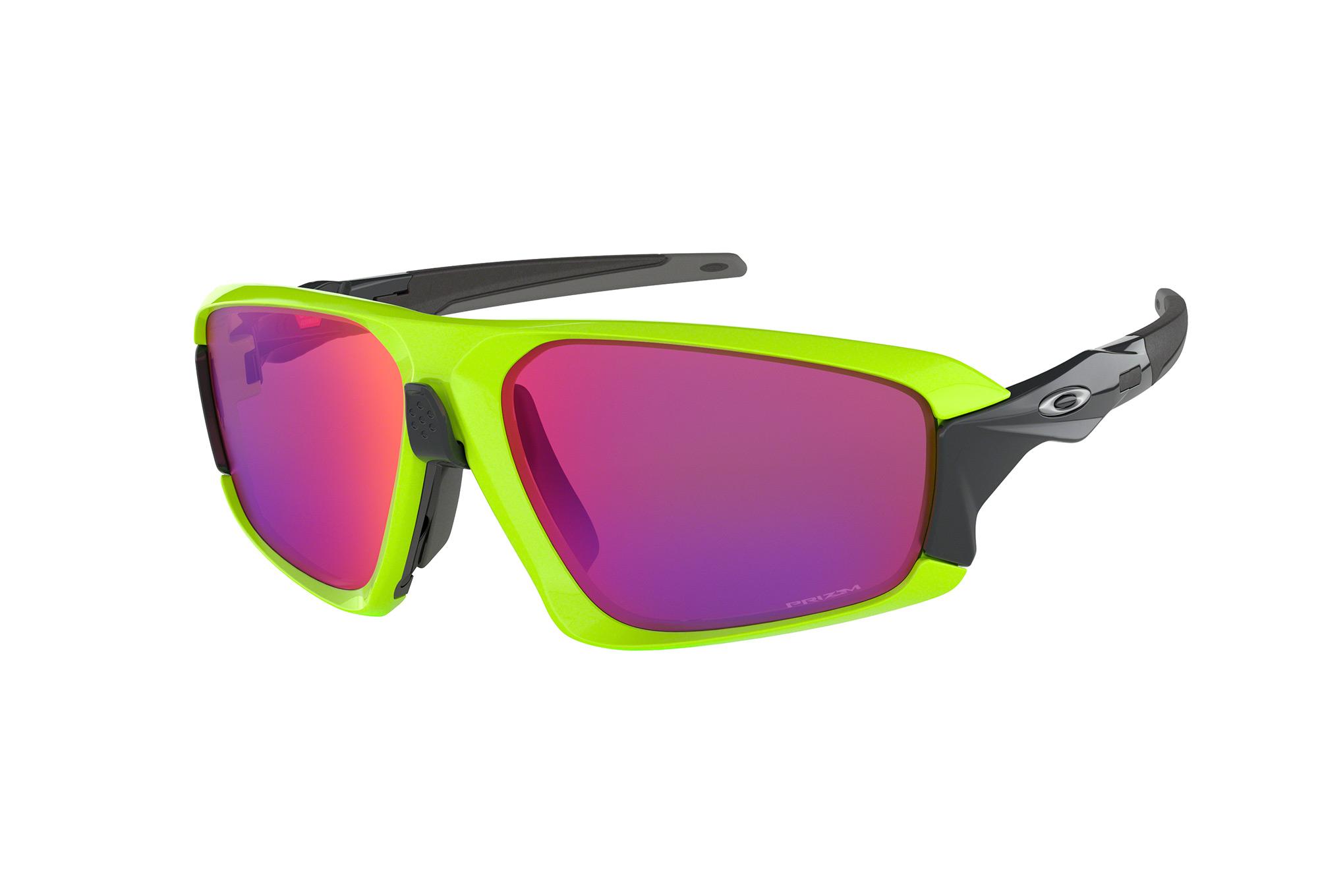 2cb36c1d05392 OAKLEY Field Jacket Sunglasses Neon Yellow Black Prizm Road ...