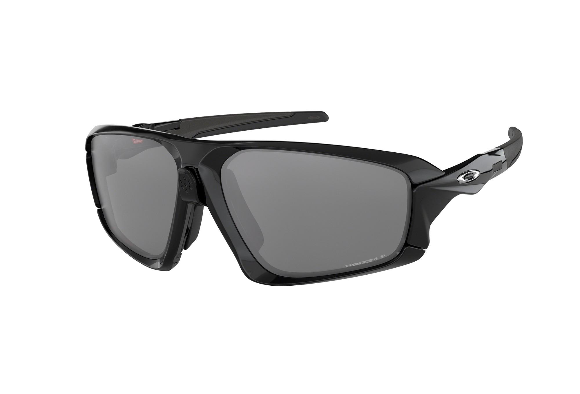 OAKLEY Field Jacket Sonnenbrille Schwarz / Prizm Schwarz Polarisiert ...