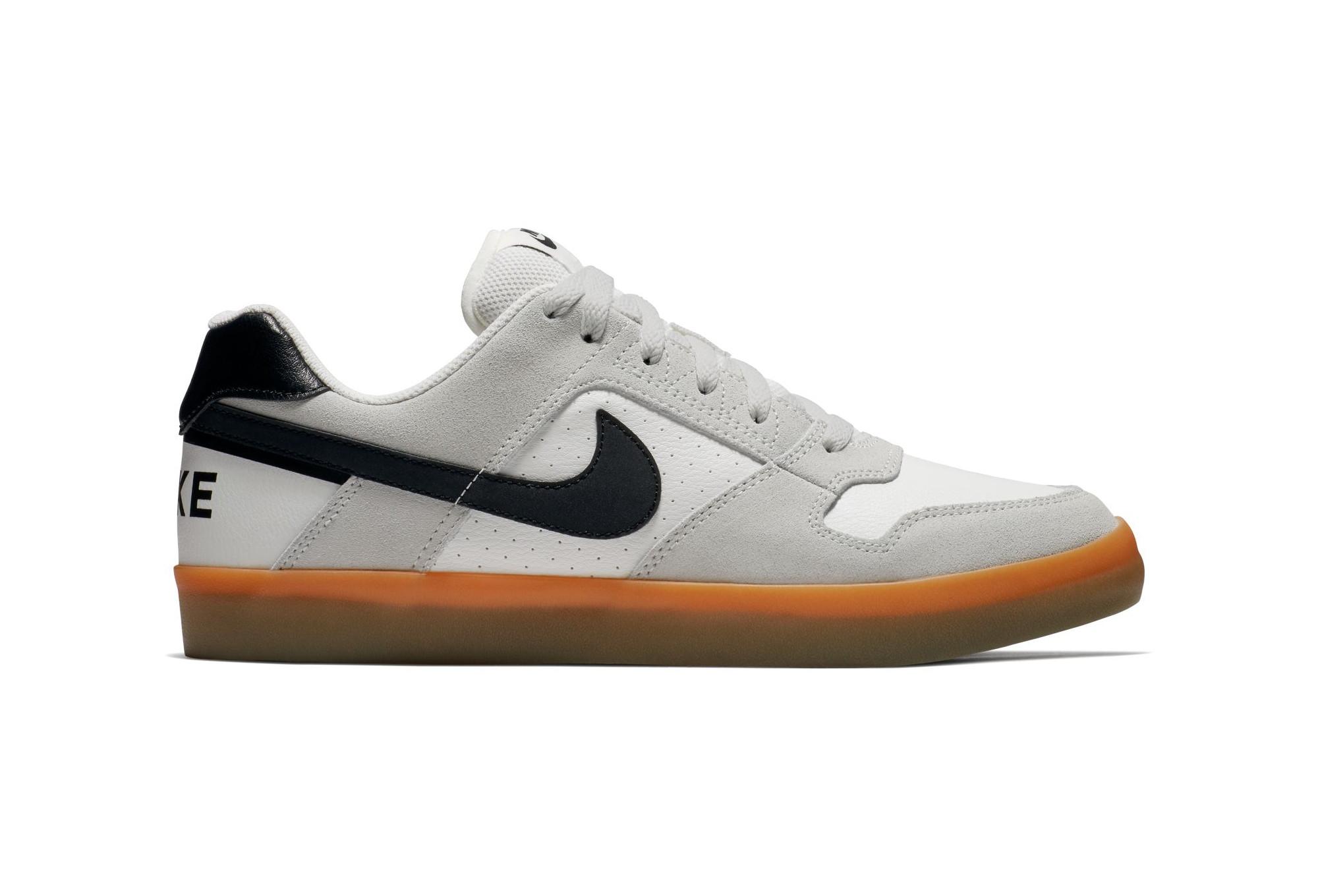 e181d33c38df6 Zapatillas Nike SB Delta Force Vulc blancas   negras