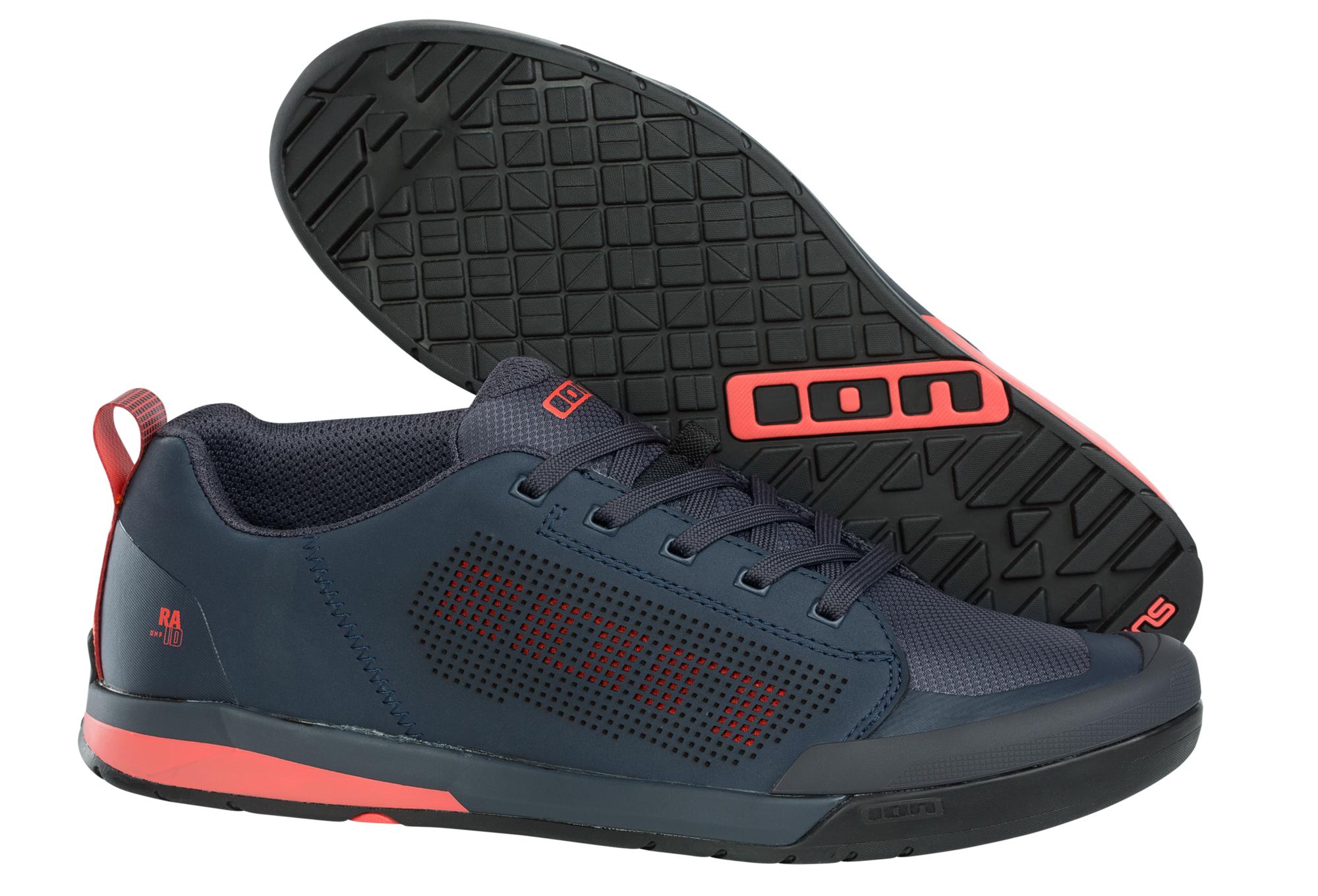 sortie en vente en arrivant ordre Paire de Chaussures pour Pédales Plates ION Raid AMP Bleu