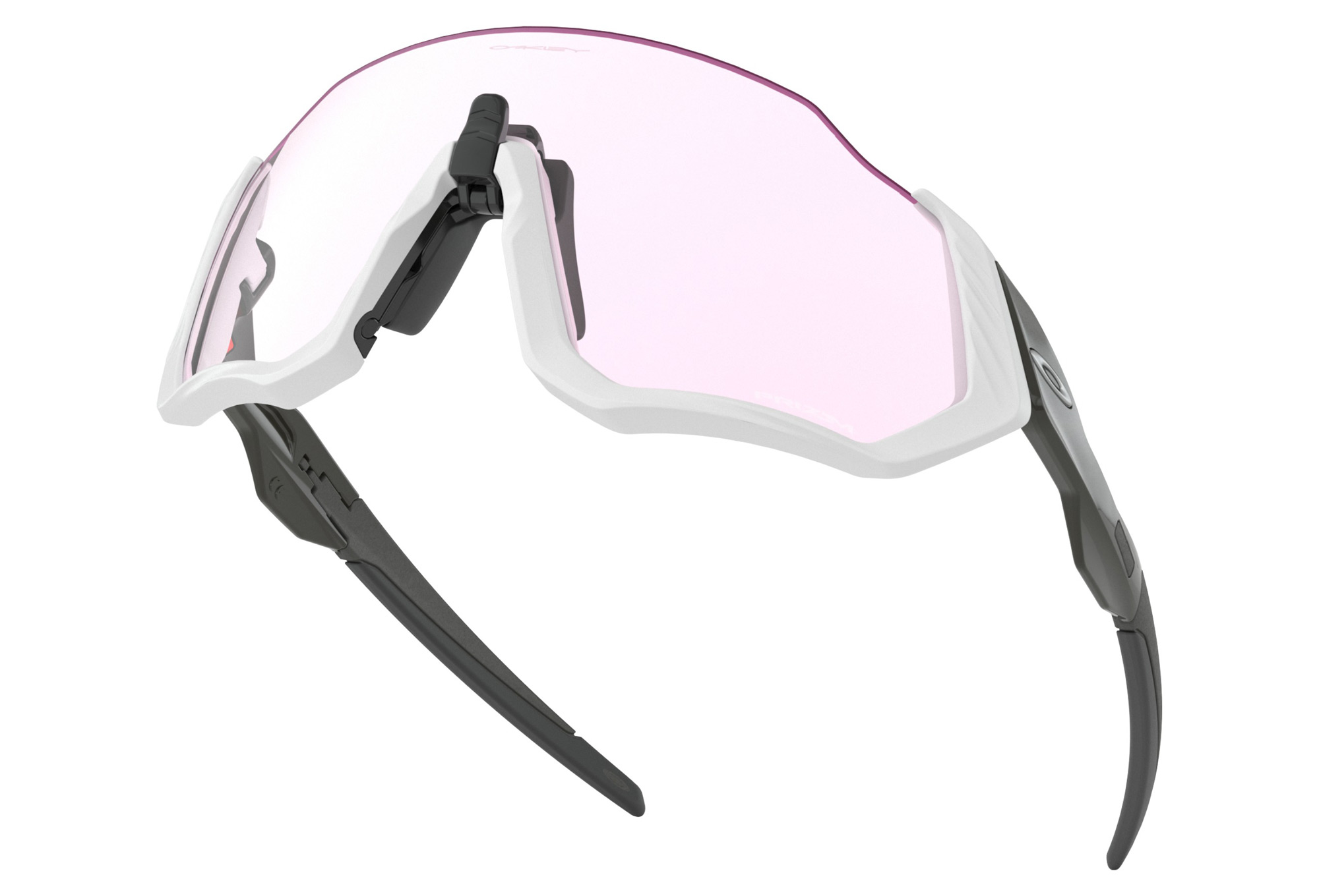 aa528eba13be5 OAKLEY Flight Jacket Sunglasses Grey Prizm Low Light