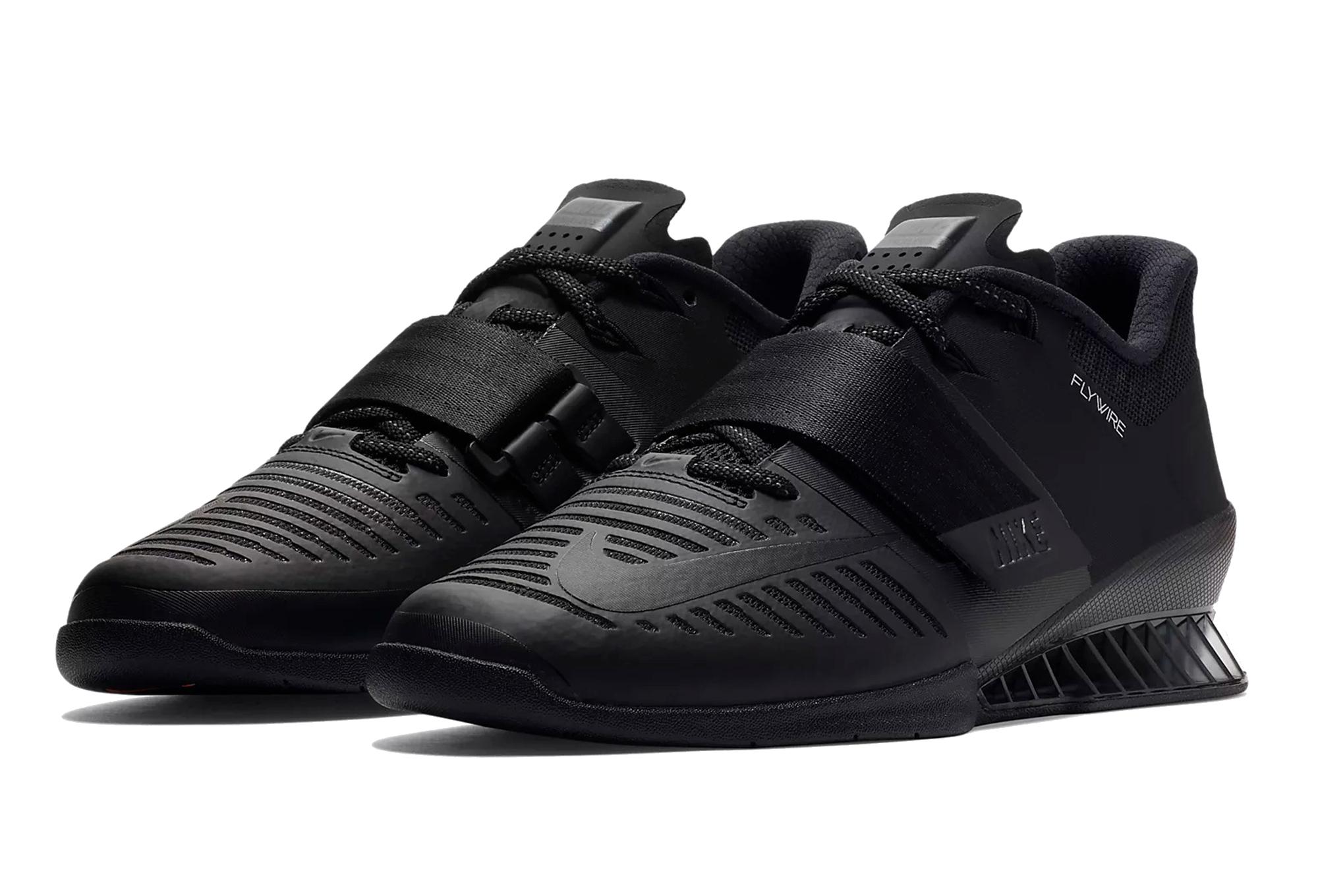 promo code d4b19 61c44 Nike Shoes Romaleos 3 Black Orange Men