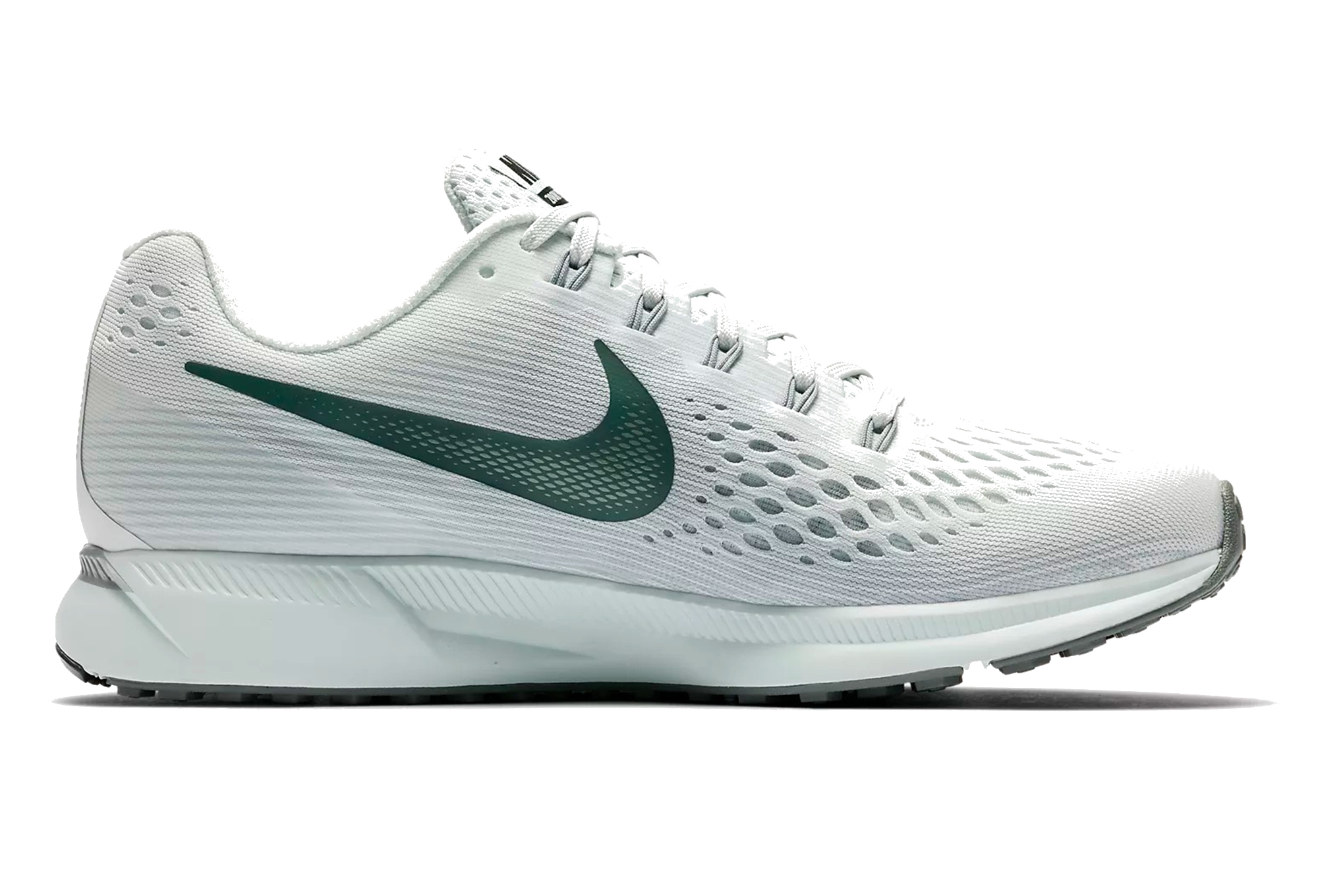 best loved ae3e5 3f925 Chaussures de Running Femme Nike Air Zoom Pegasus 34 Blanc   Vert