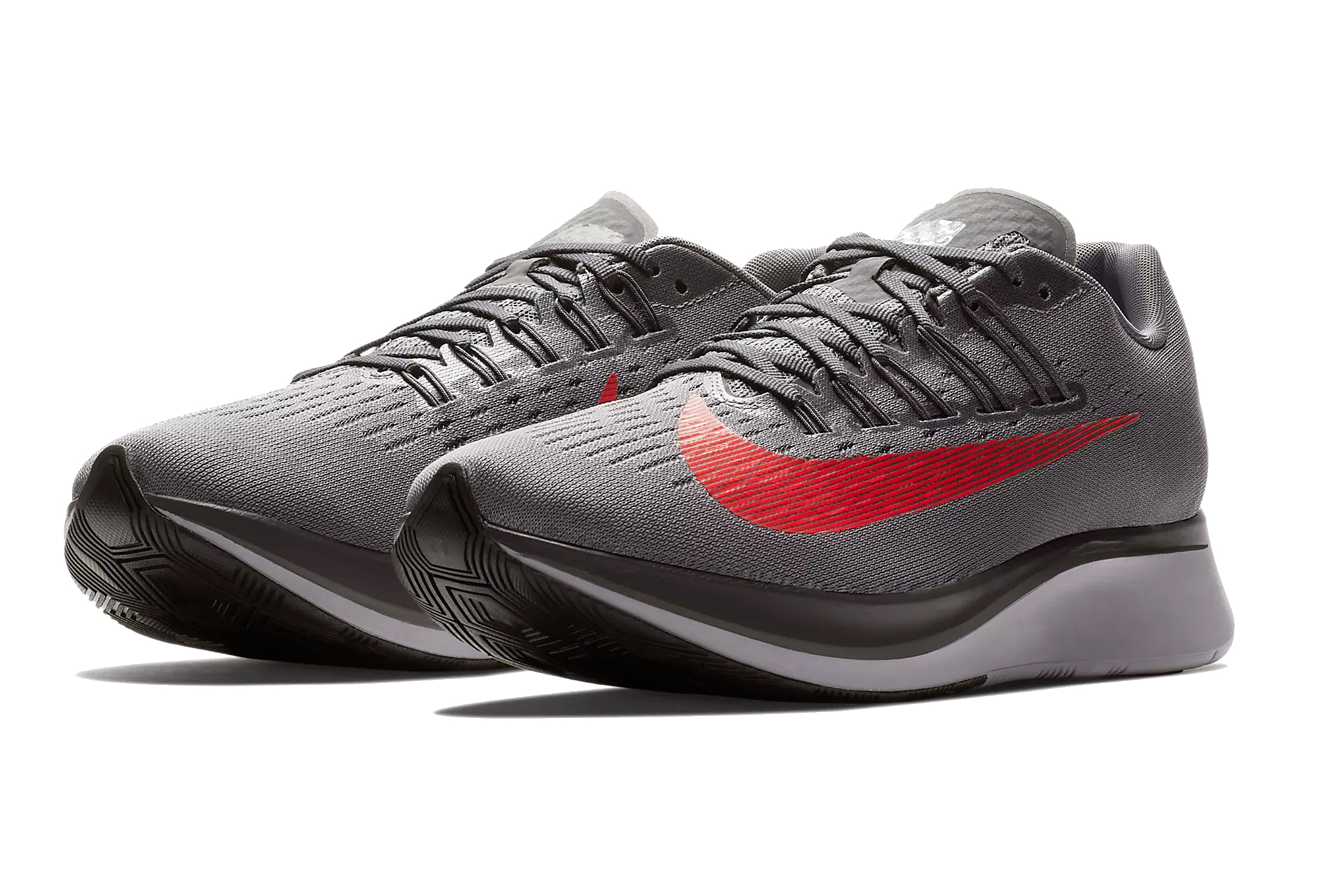 Nike Shoes Zoom Fly Grey Red Men