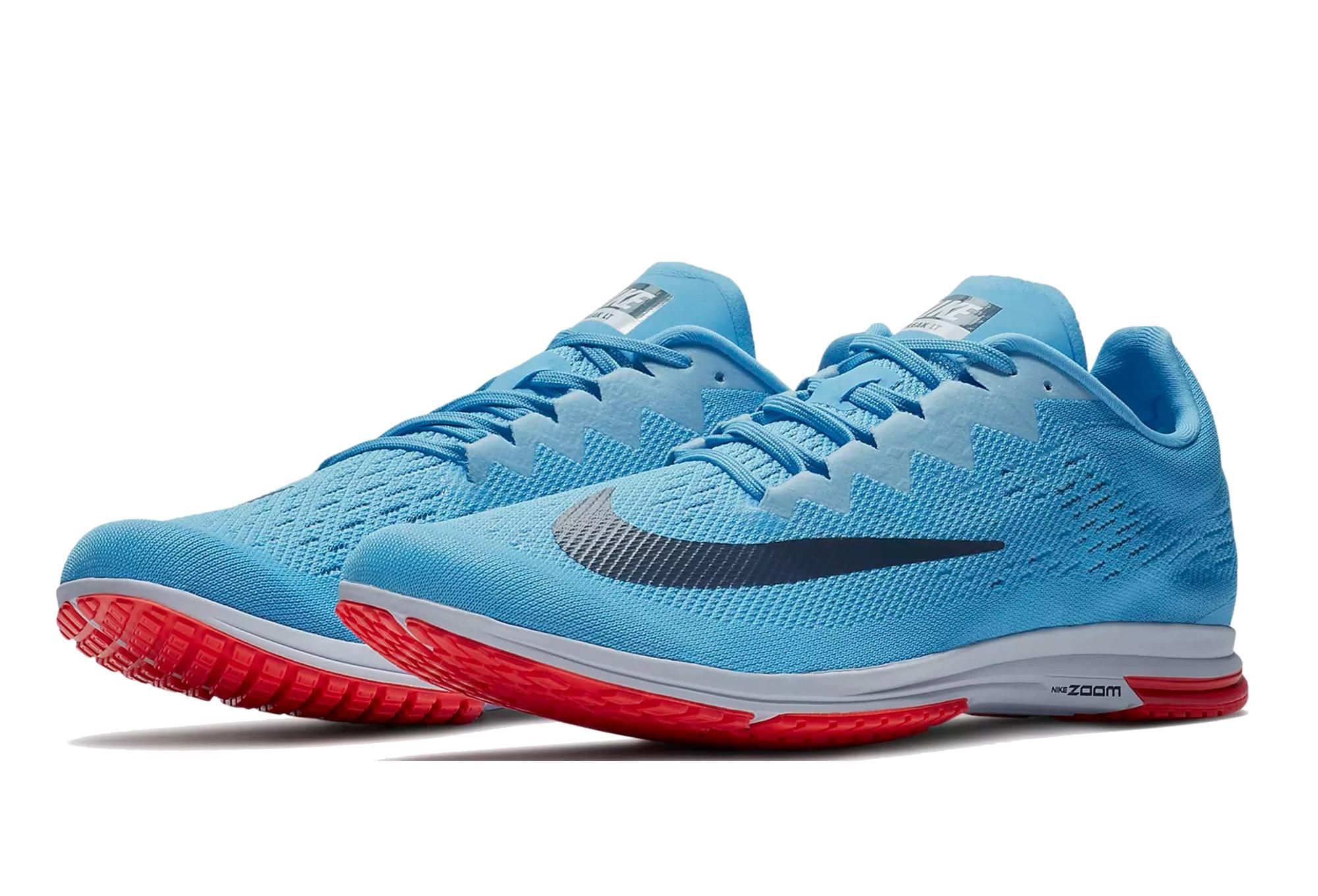 Chaussures de Running Nike Air Zoom Streak LT 4 Bleu Orange