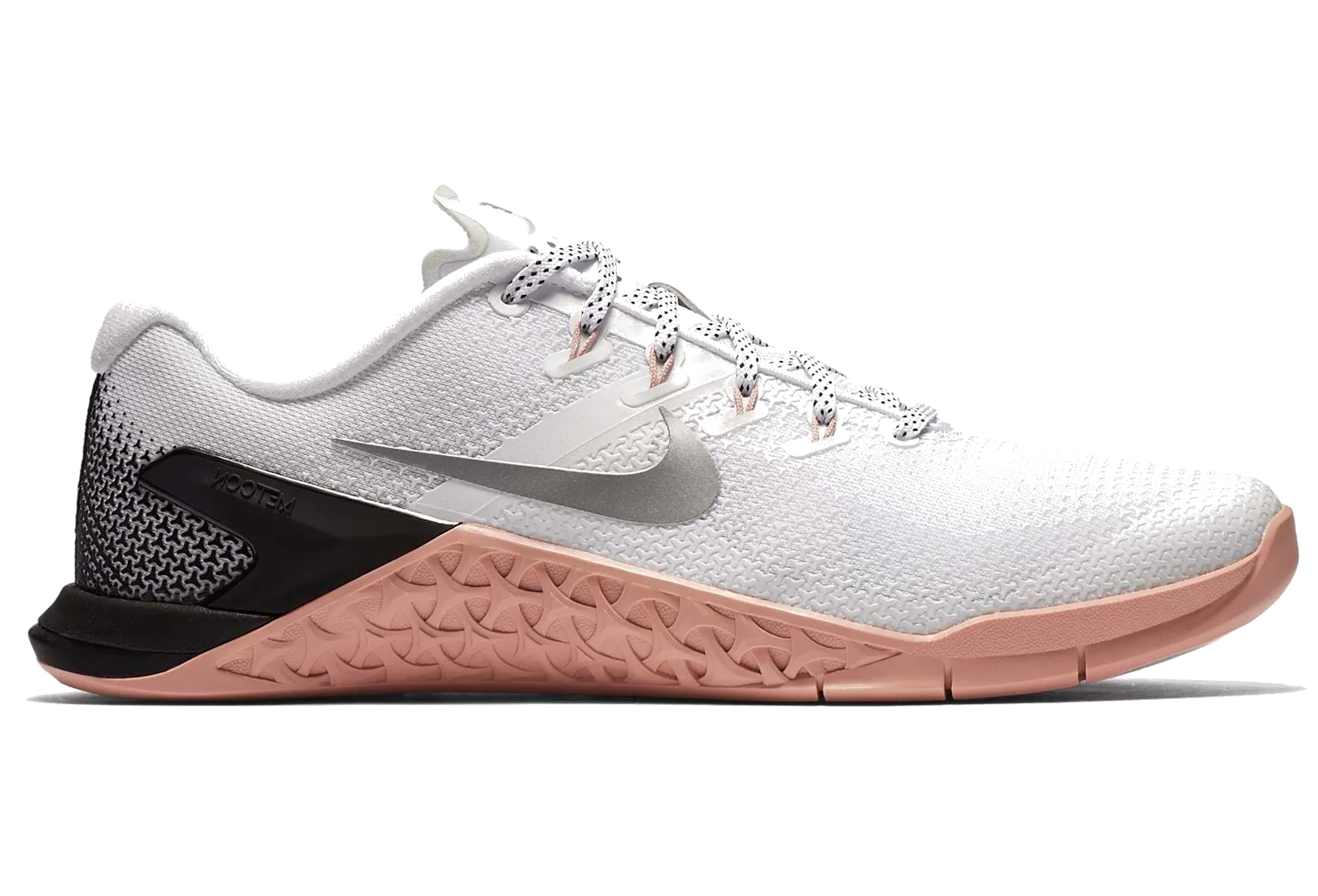 Chaussures de Cross Training Nike Metcon 4 Blanc Rose Femme