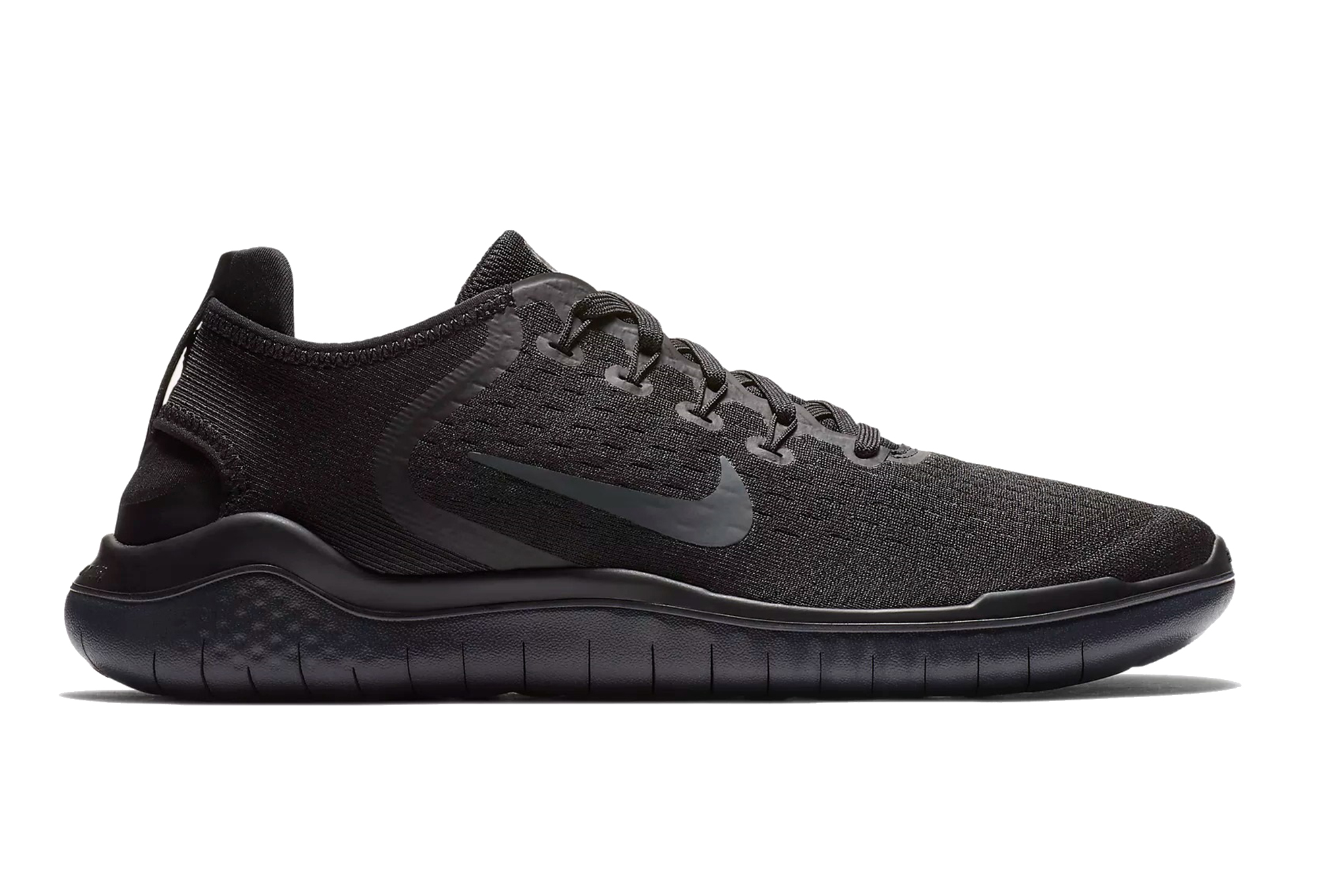 41316009e236 Nike Shoes Free RN 2018 Black Men