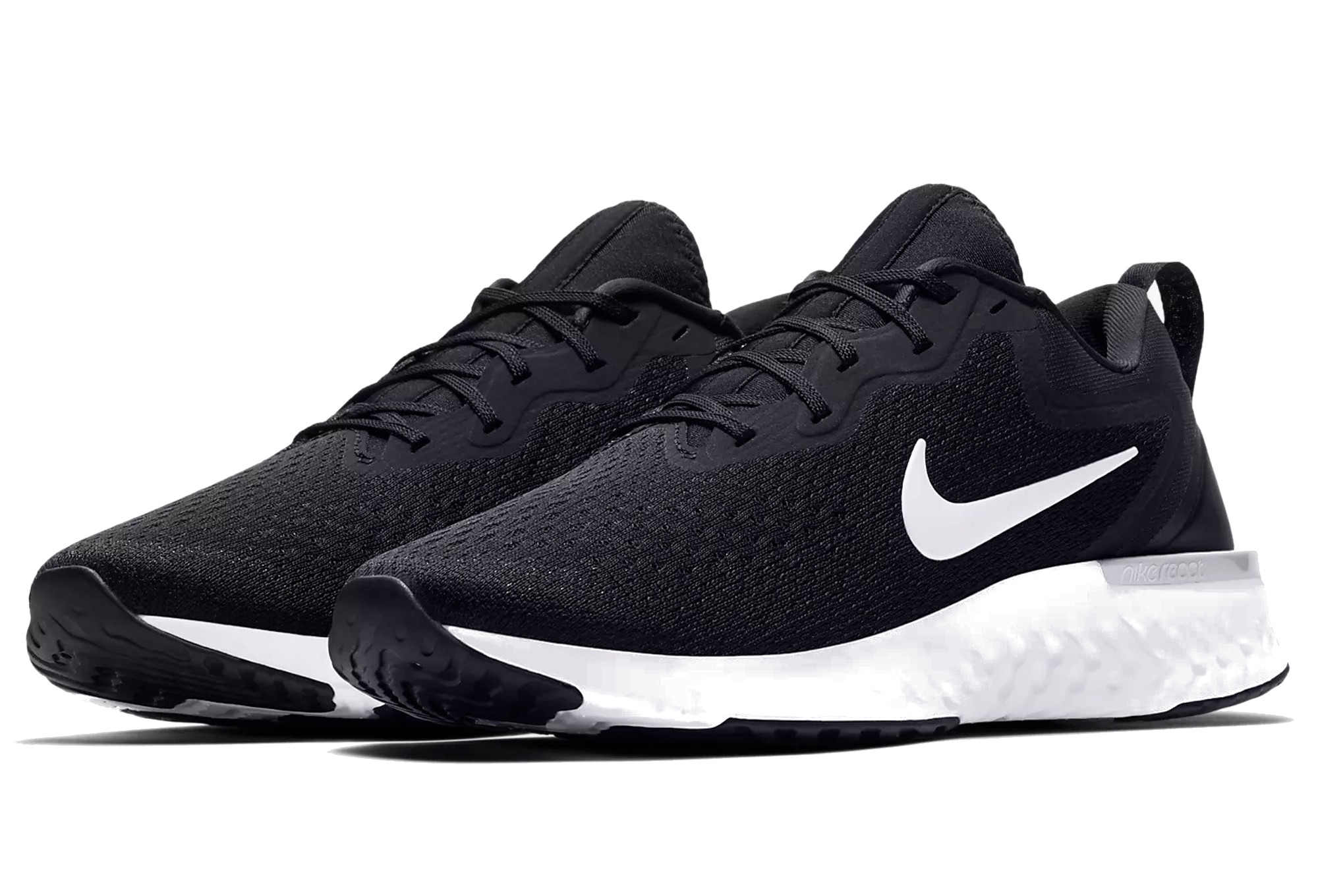 Nike Shoes Odyssey React Black White Hombres