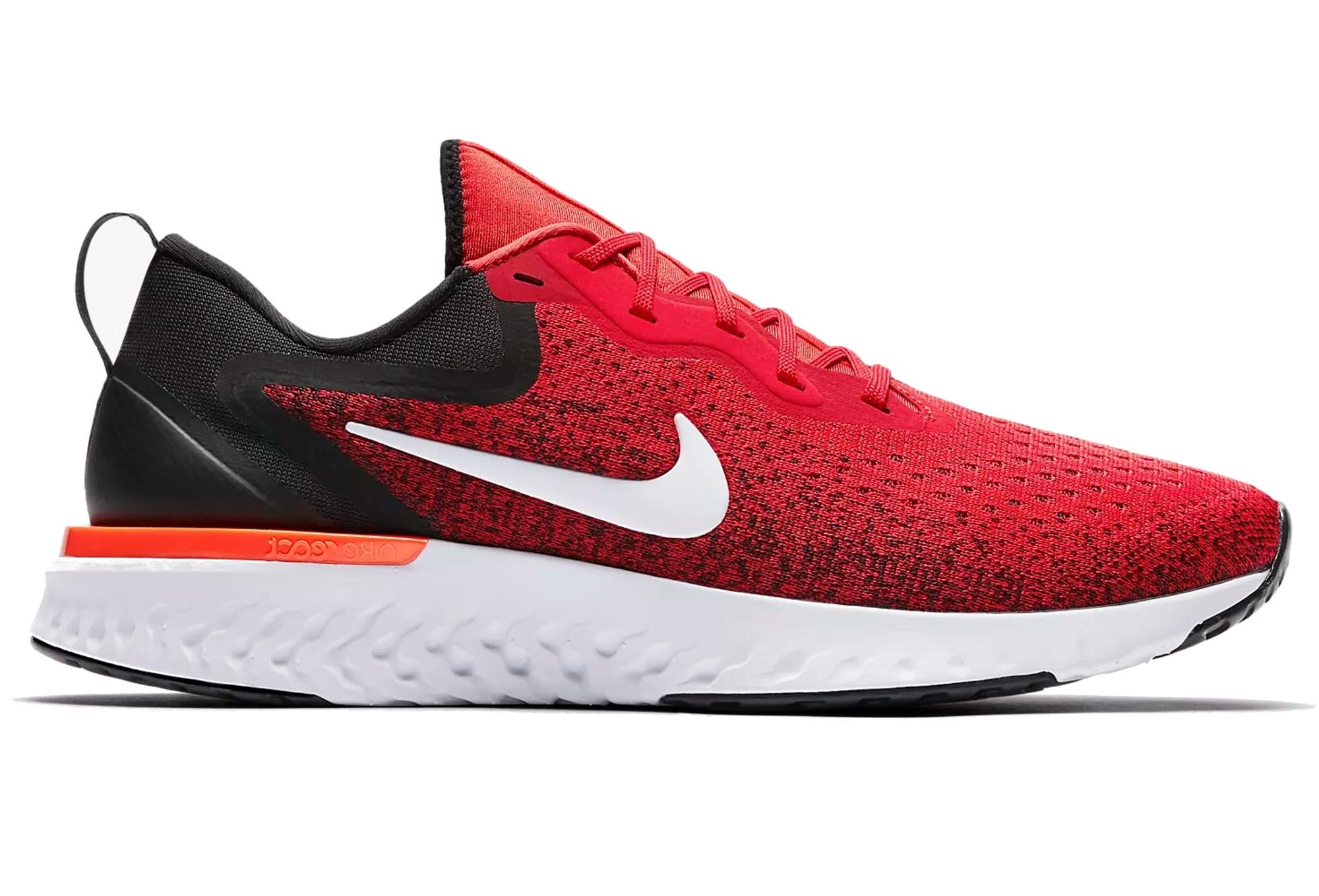 12ac803805c47 Chaussures de Running Nike Odyssey React Noir   Rouge   Alltricks.fr