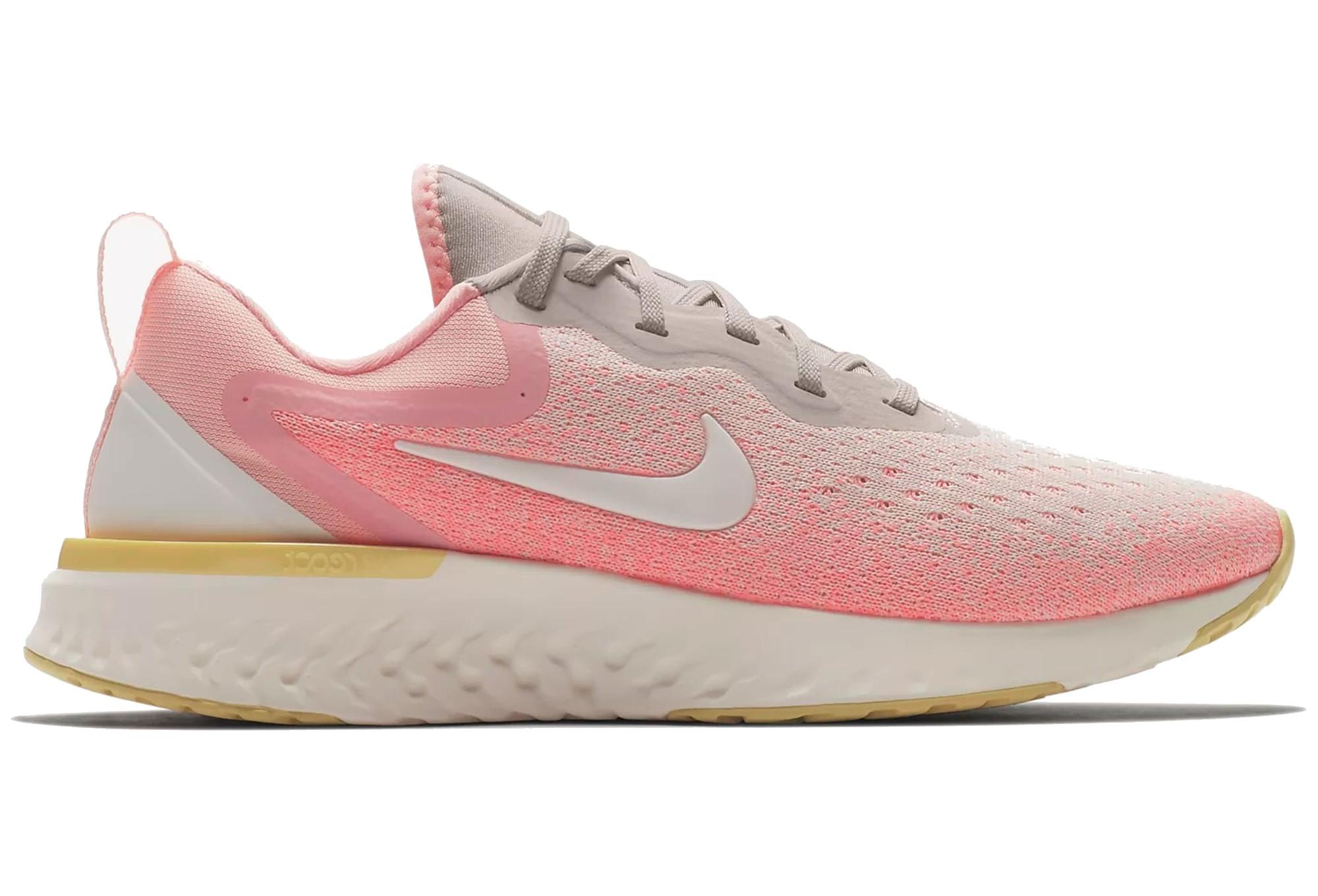 Nike Odyssey React Gris Rose Femme