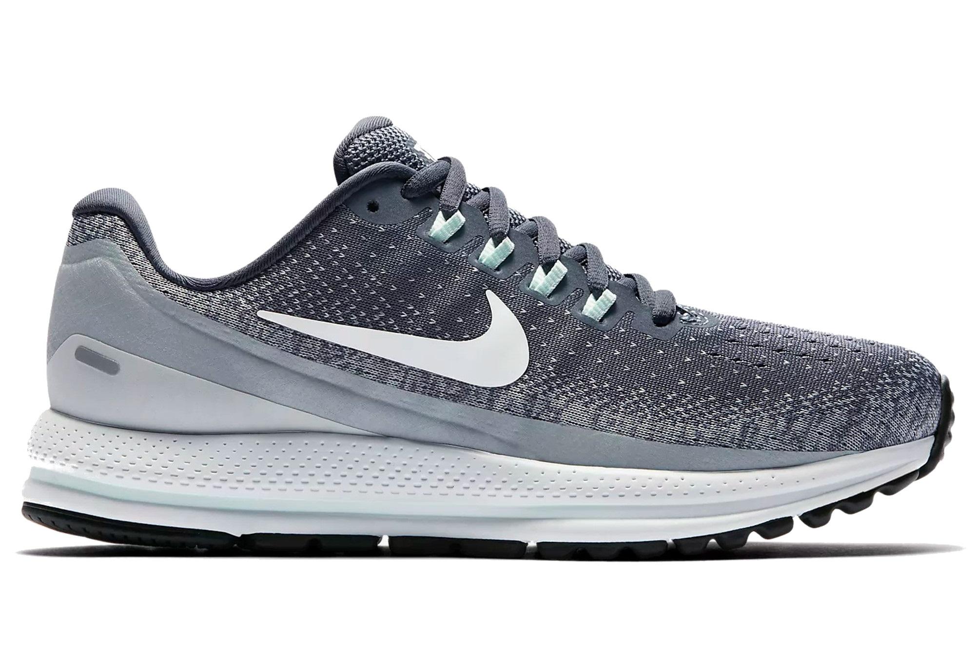 Zoom 13 Nike Air Schwarz Schuhe Vomero Damen Grau Weiß OPnN80ZwXk