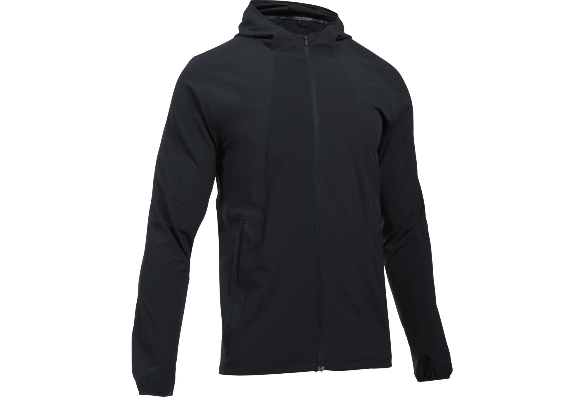 Under Armour Outrun The Storm Windbreaker Jacket Black Alltricks Com