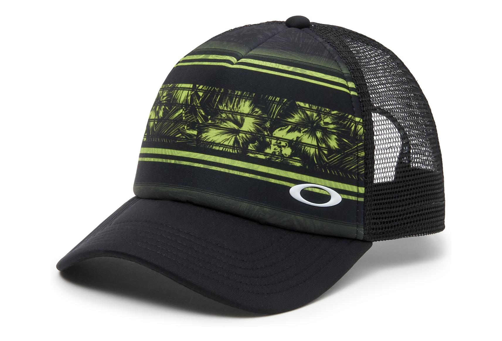 new arrival 8427f 90278 cheapest oakley cap mesh sublimated trucker olive green black a8d0c 8bdcb
