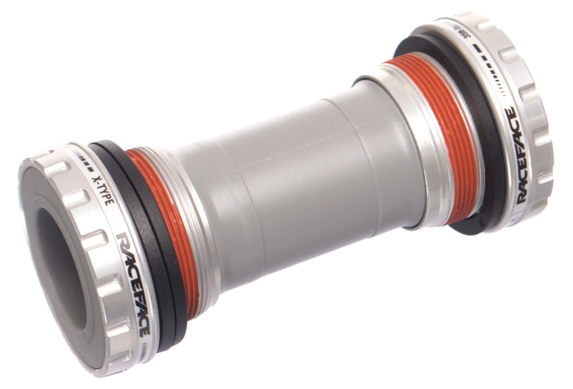 Race Face Team XC X-Type External Bottom Bracket BSA 68//73mm Shell 24mm Spindle